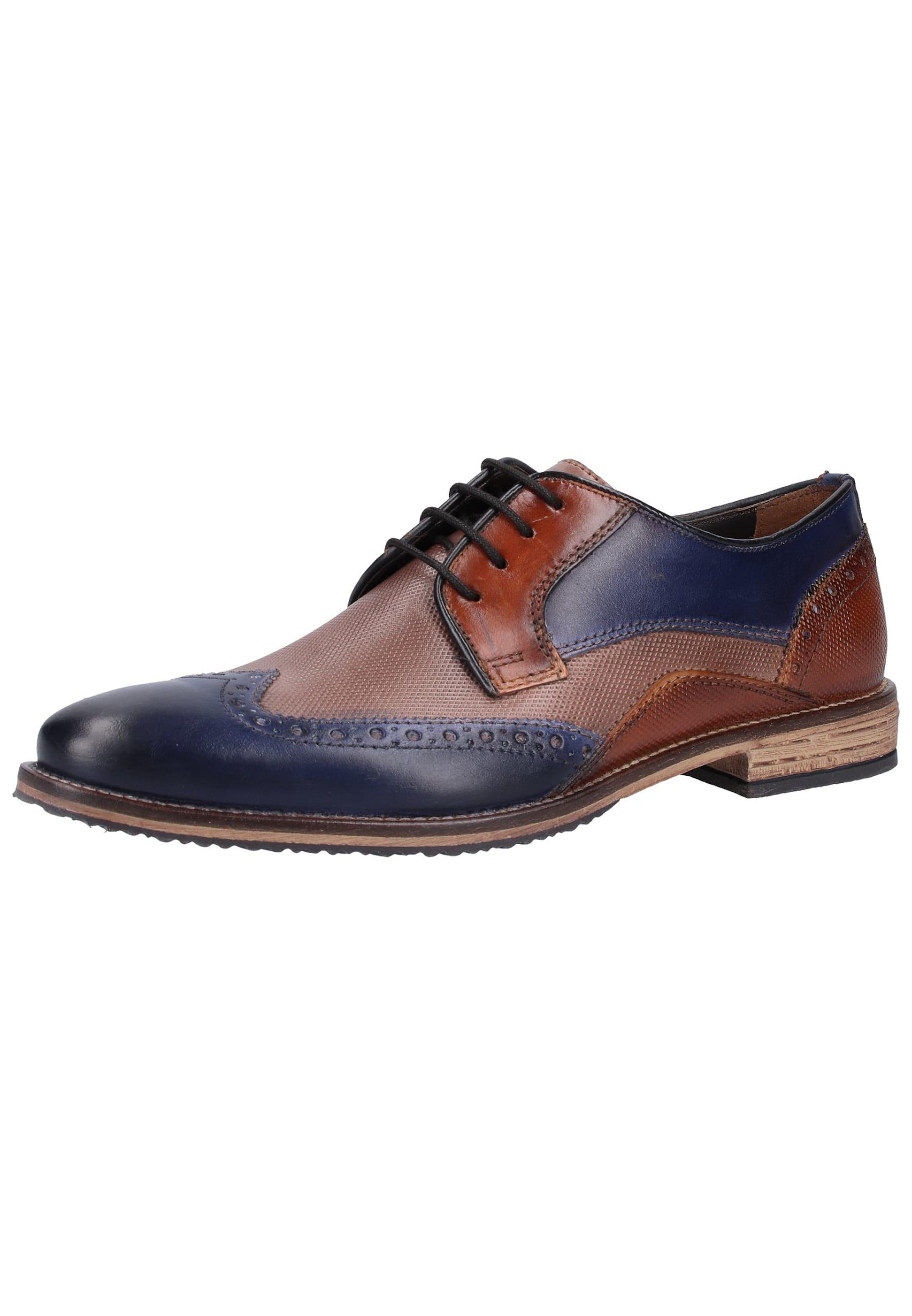 Marron Men En Lacets À Chaussure Fretz ARL435j