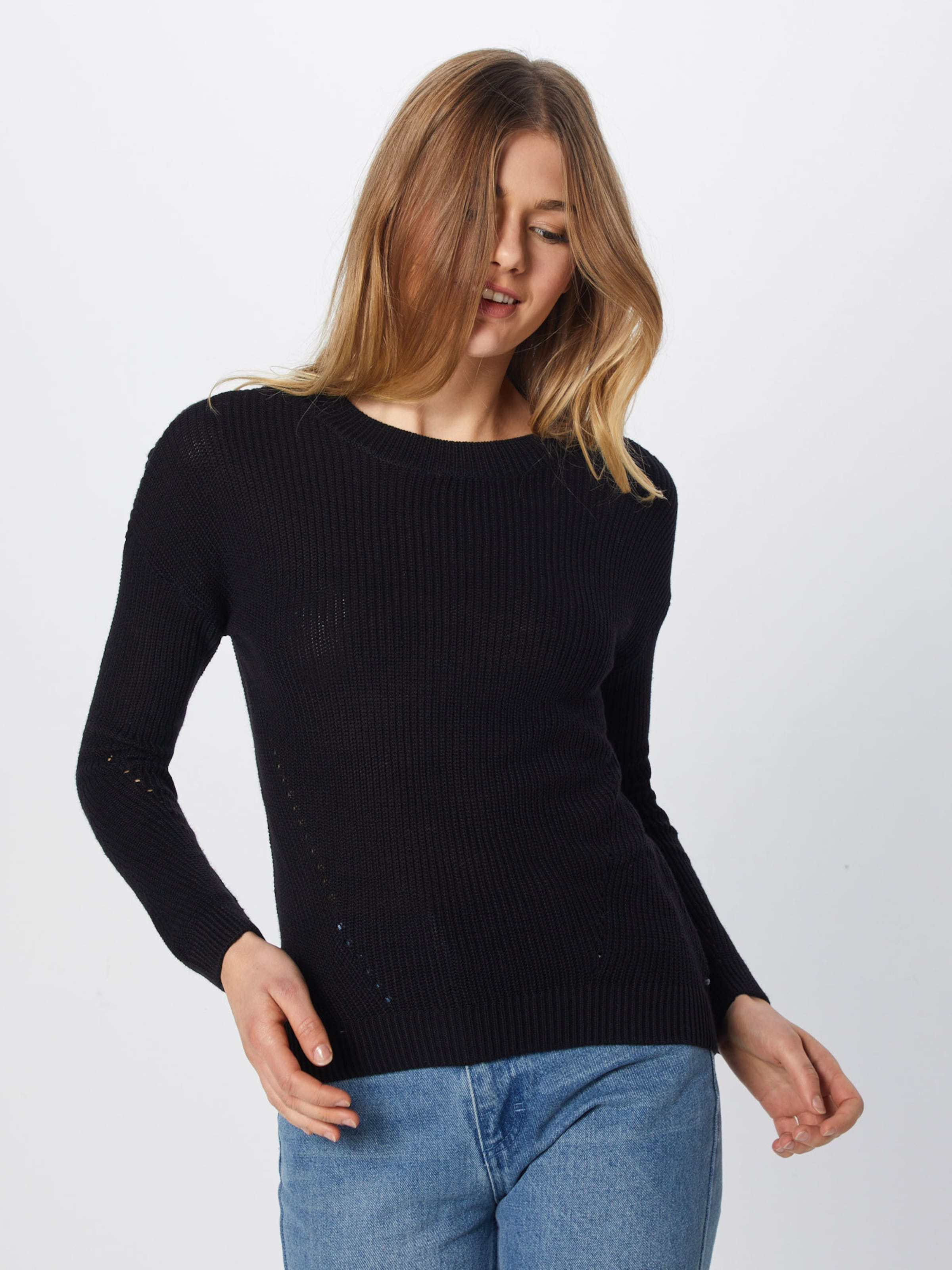 Noisy May Schwarz Pullover 'sian' In v0wmON8n