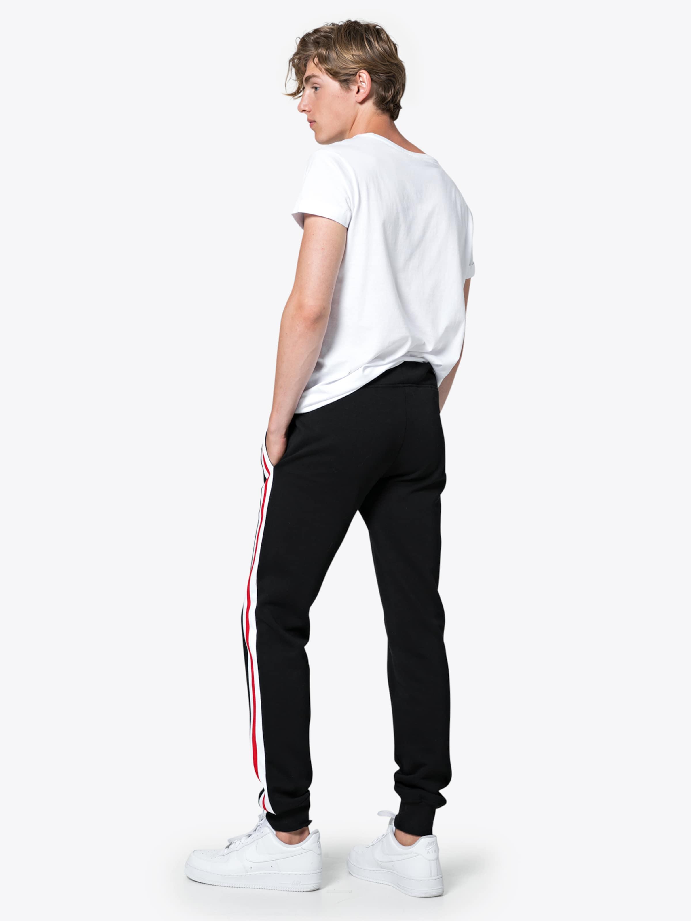 Blanc Classics En Urban RougeNoir Pantalon nP0kwO
