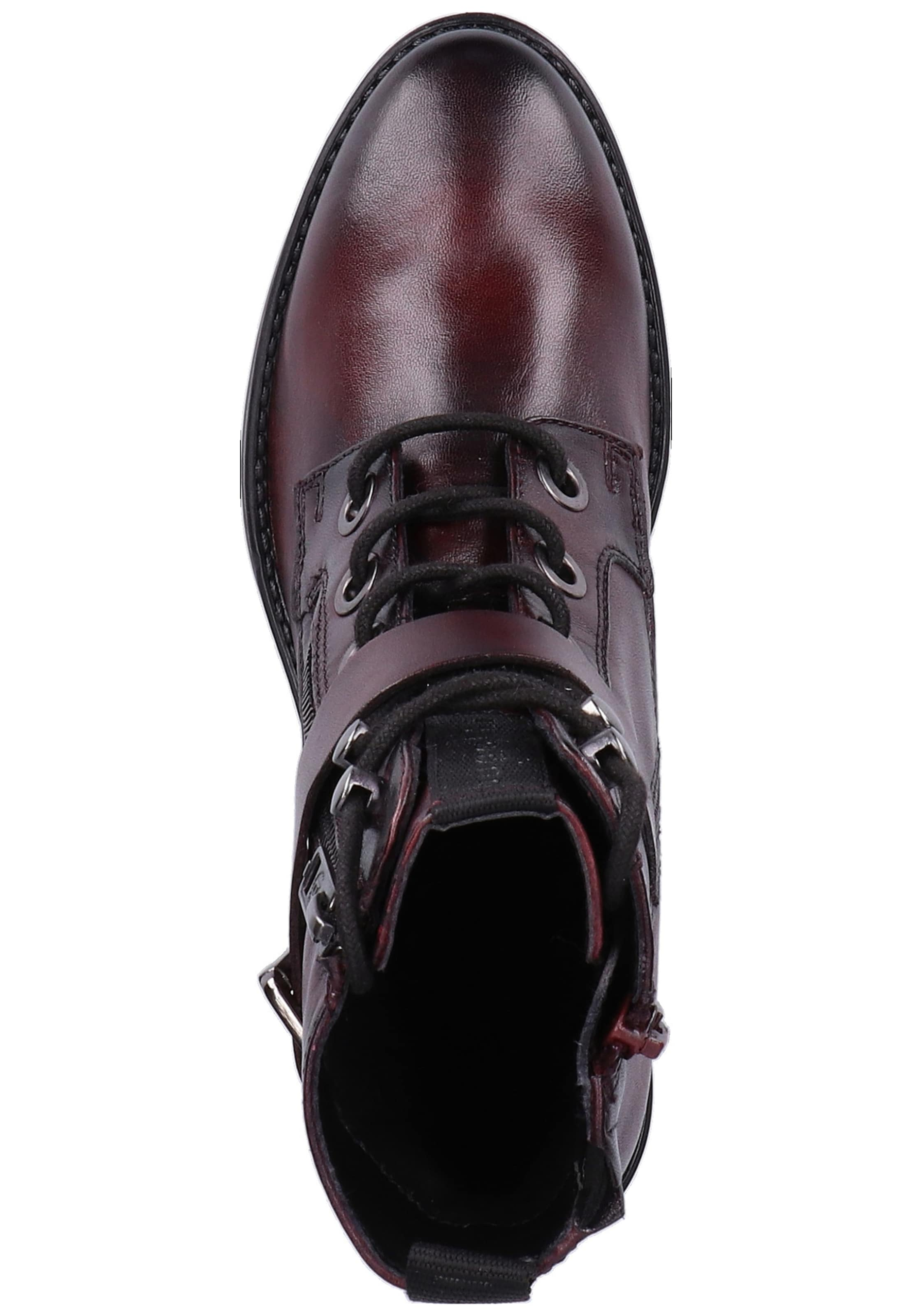 À Lacets En Bugatti Bottines Bordeaux HDYeW29EI