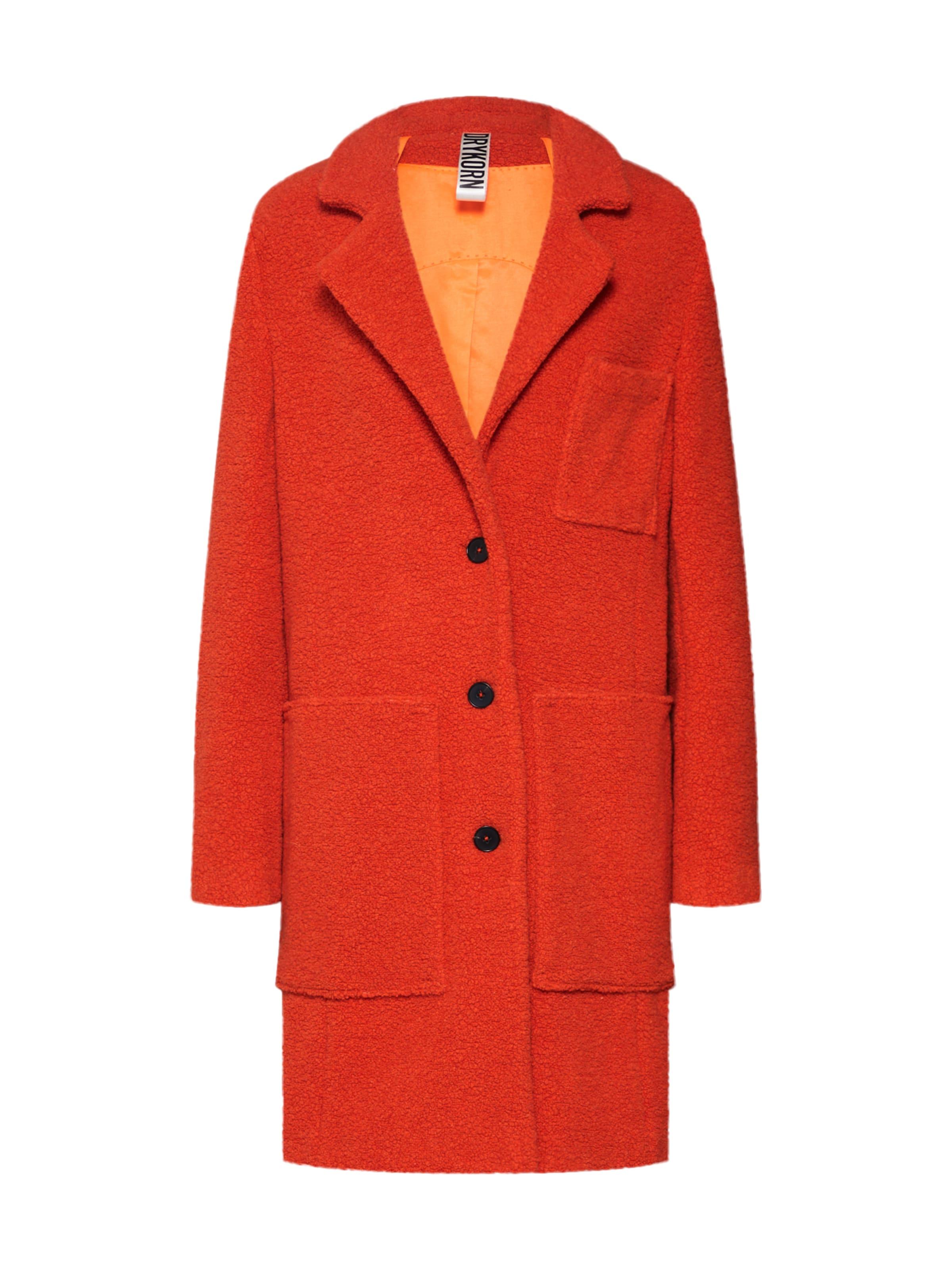 'caslan' Orangerot Mantel In Mantel Drykorn Drykorn Ok0Pwn