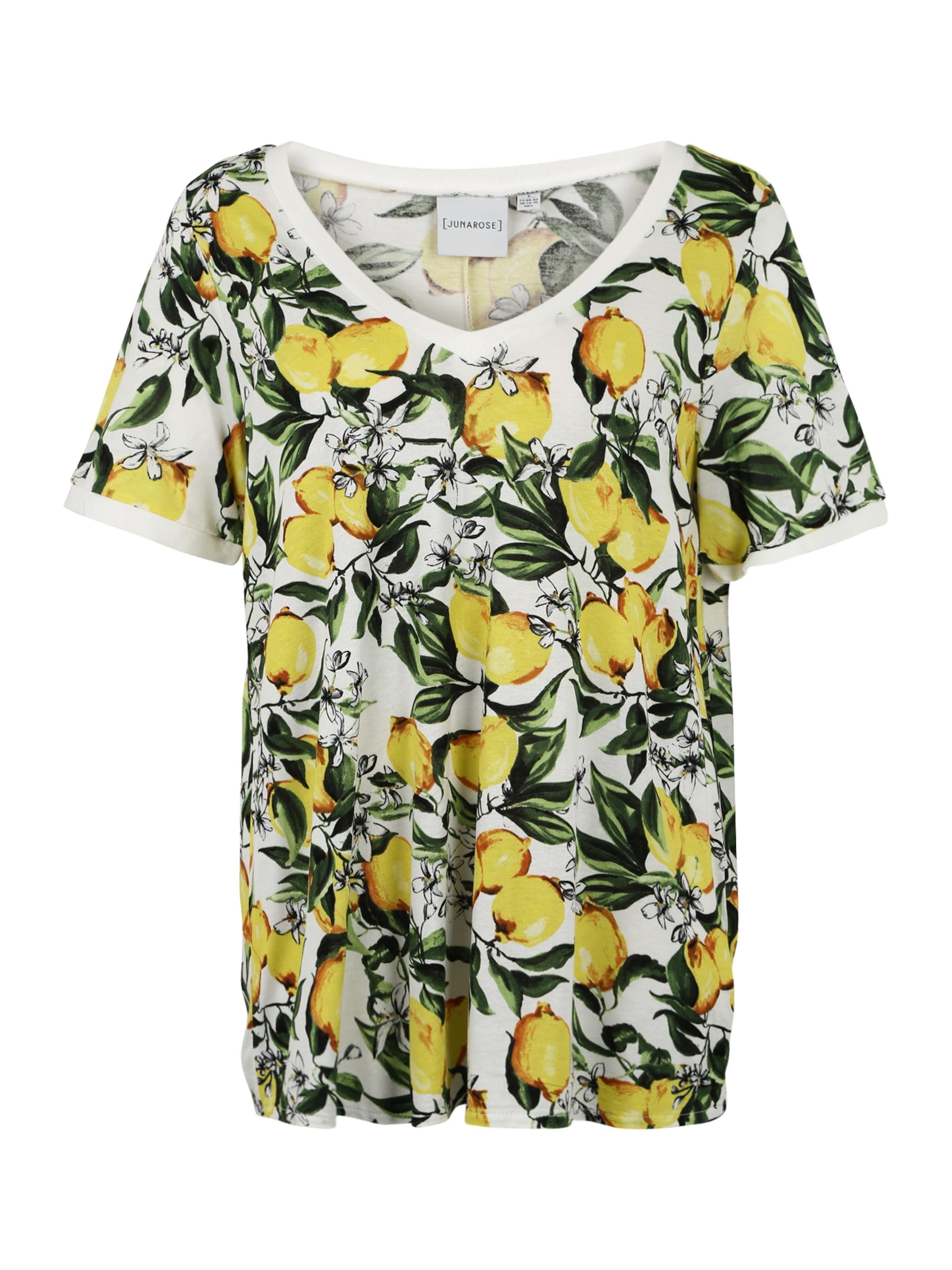 Junarose Blanc CitronVert En 'silke' shirt T 8OnwXNk0P