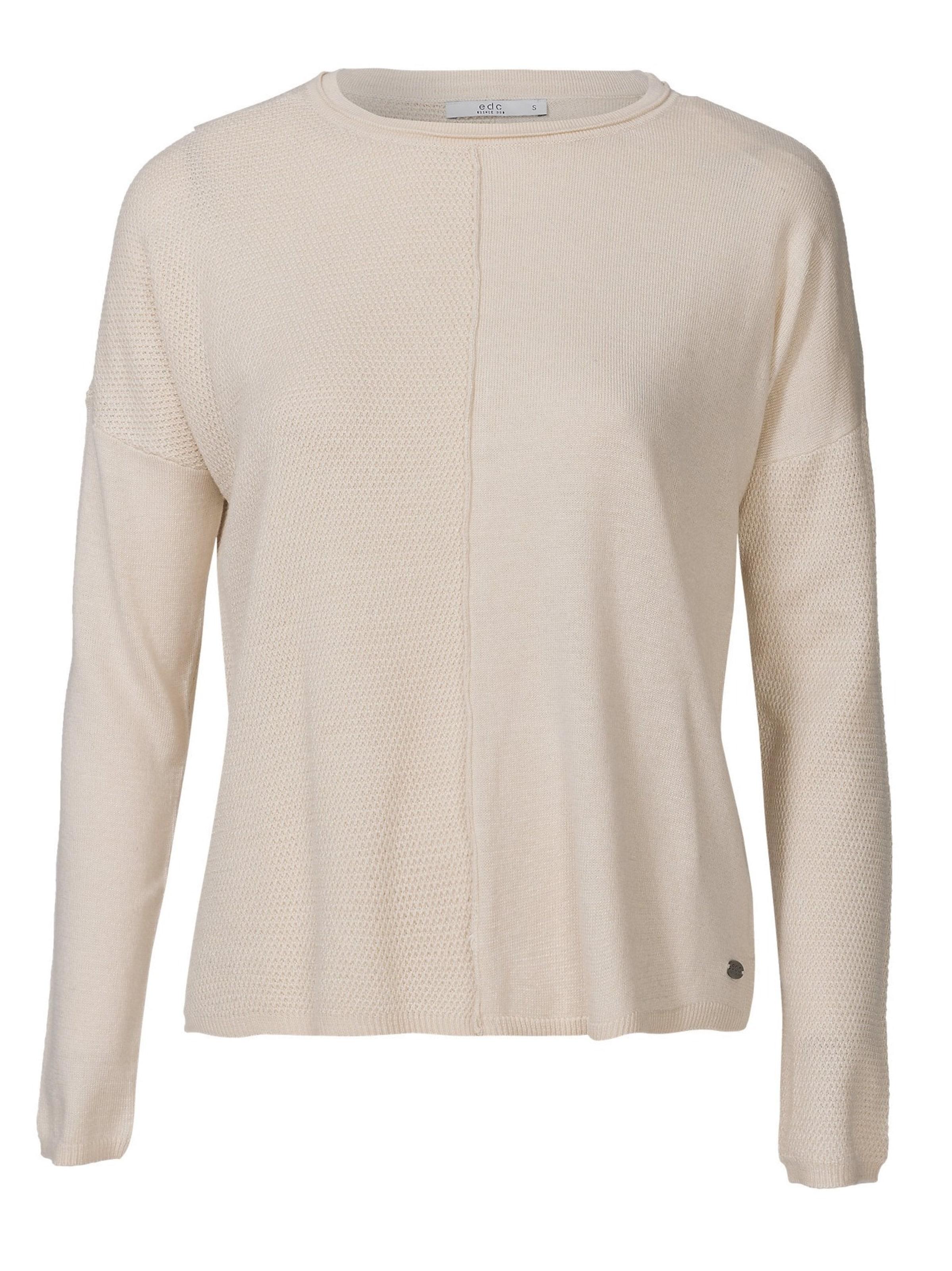 Esprit Edc Pullover In By Creme FJl1cK