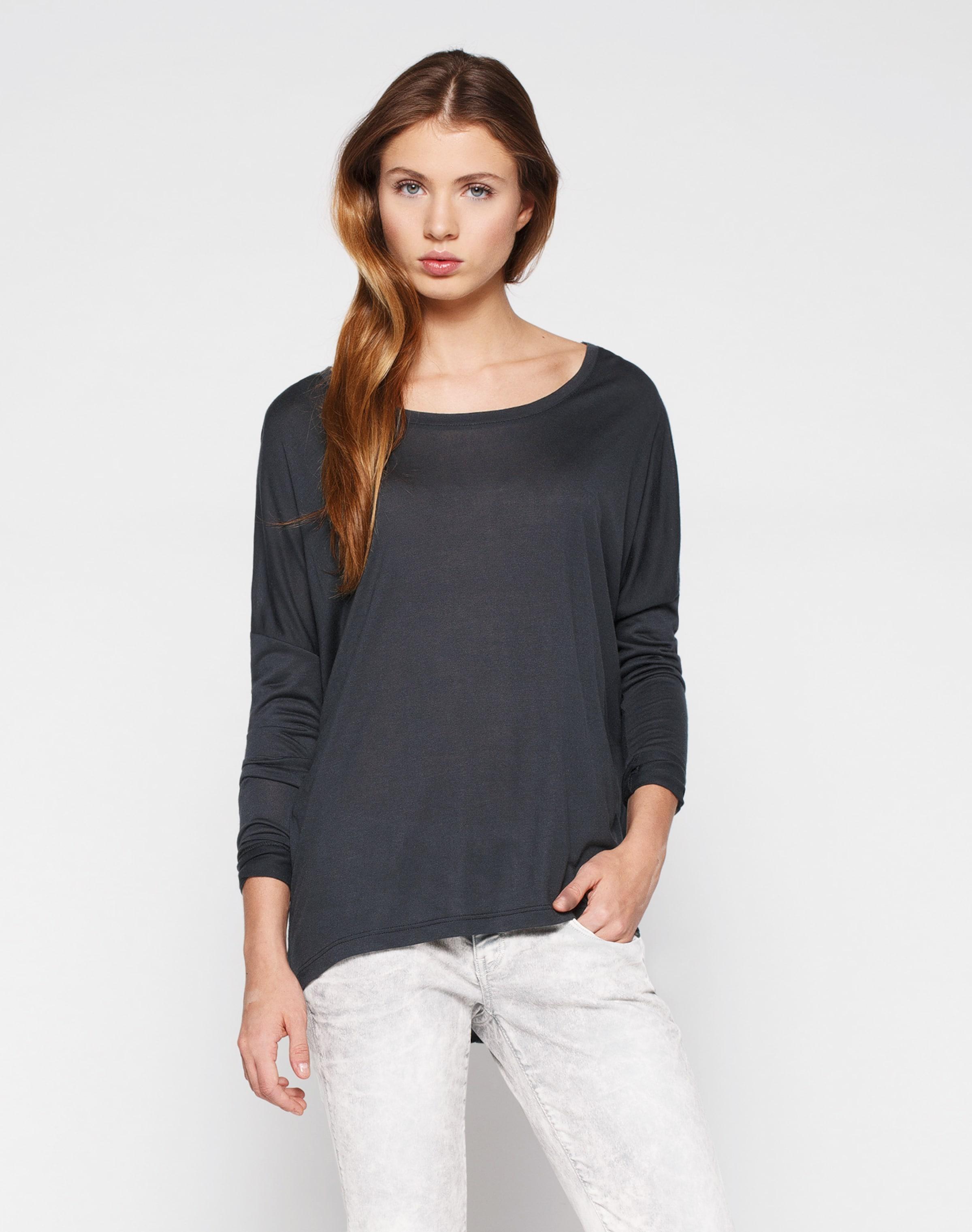 Mbym 'petrol' T En shirt Oversize Blanc wukPTlOXZi