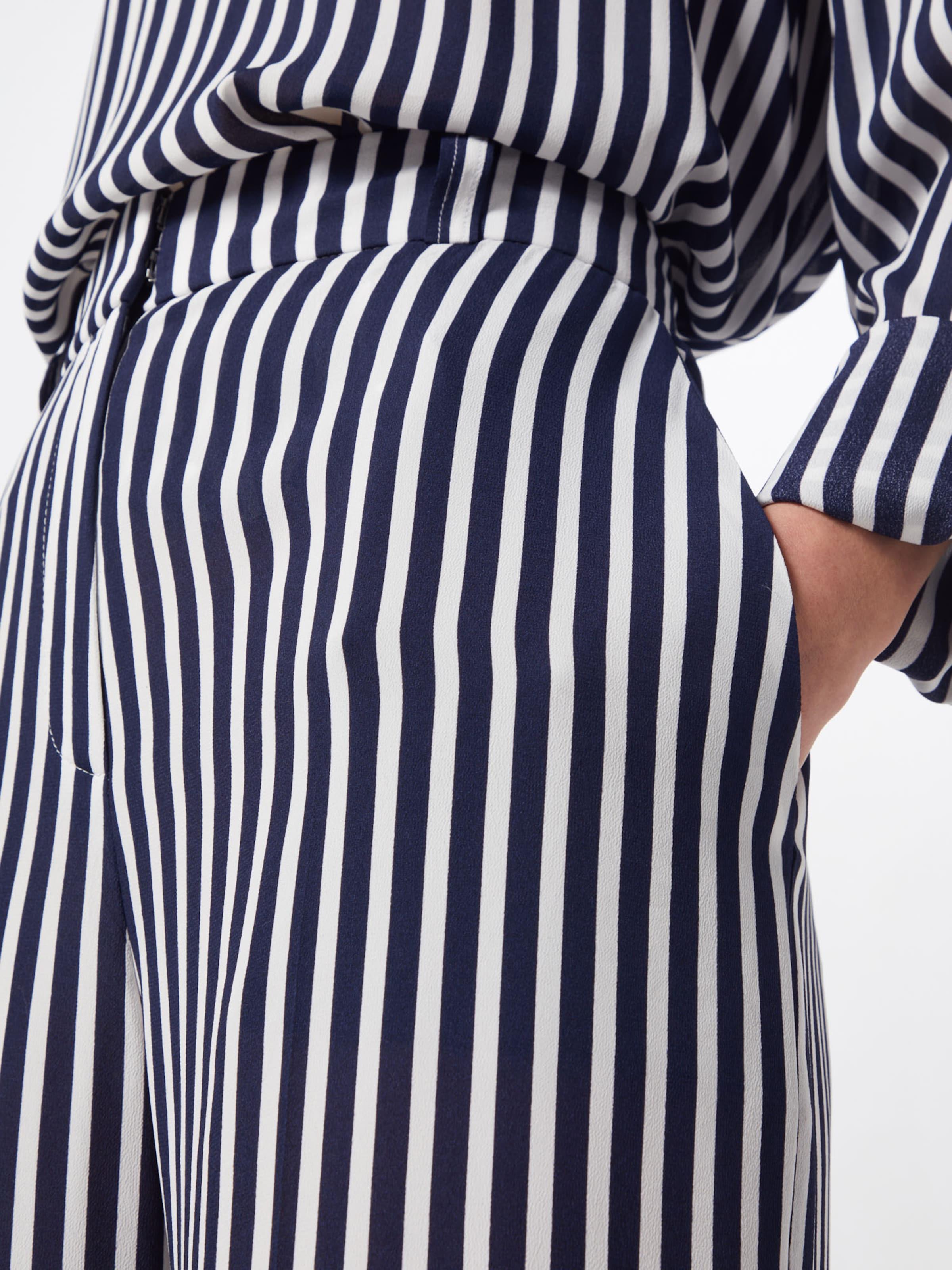 En Hugo 'hatessi' Pantalon MarineBlanc Bleu NP8kwOnX0