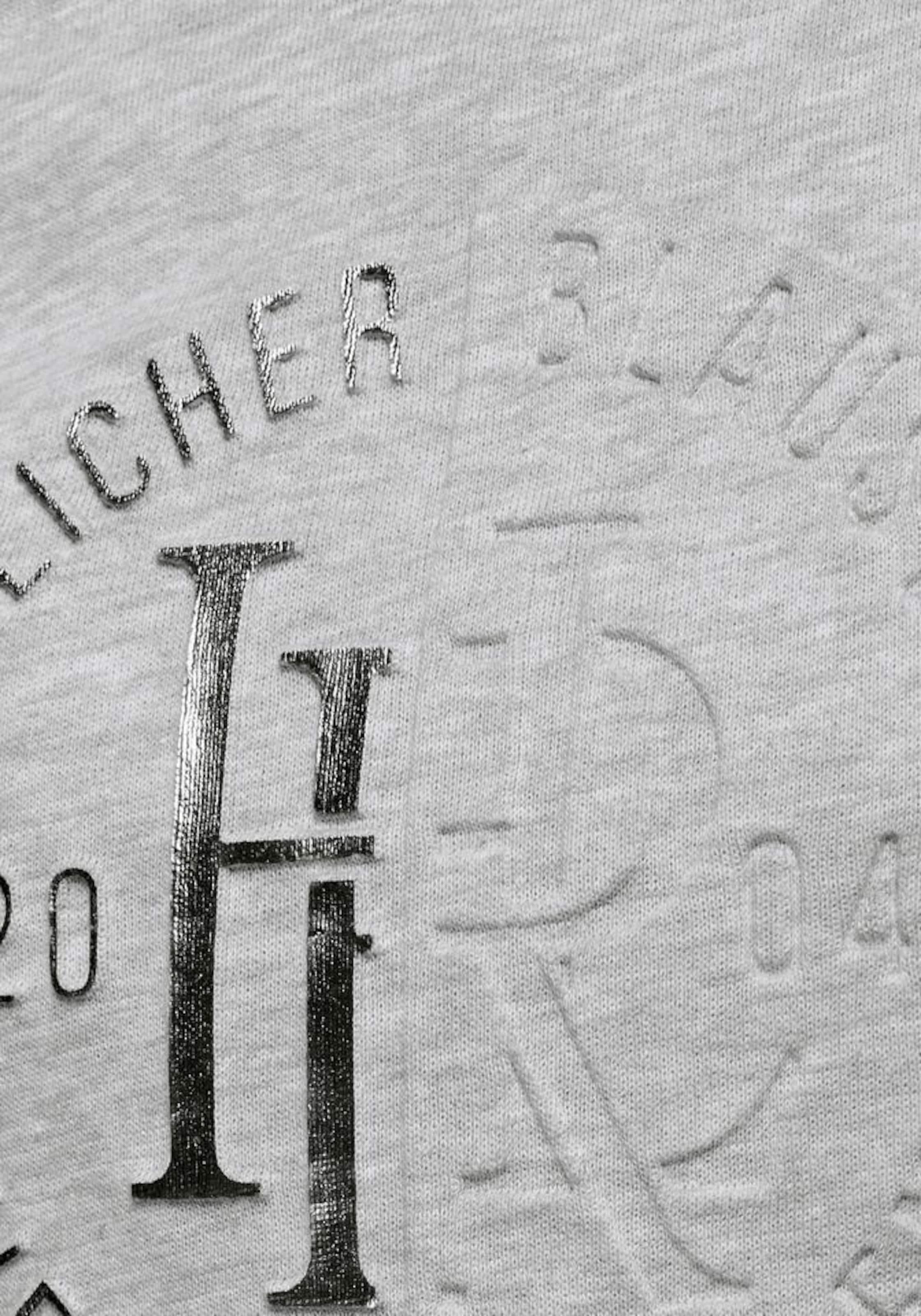 GraumeliertSilber Sweatshirt Herrlicher Herrlicher 'anetta' In GraumeliertSilber Sweatshirt 'anetta' In dtsxQrChB