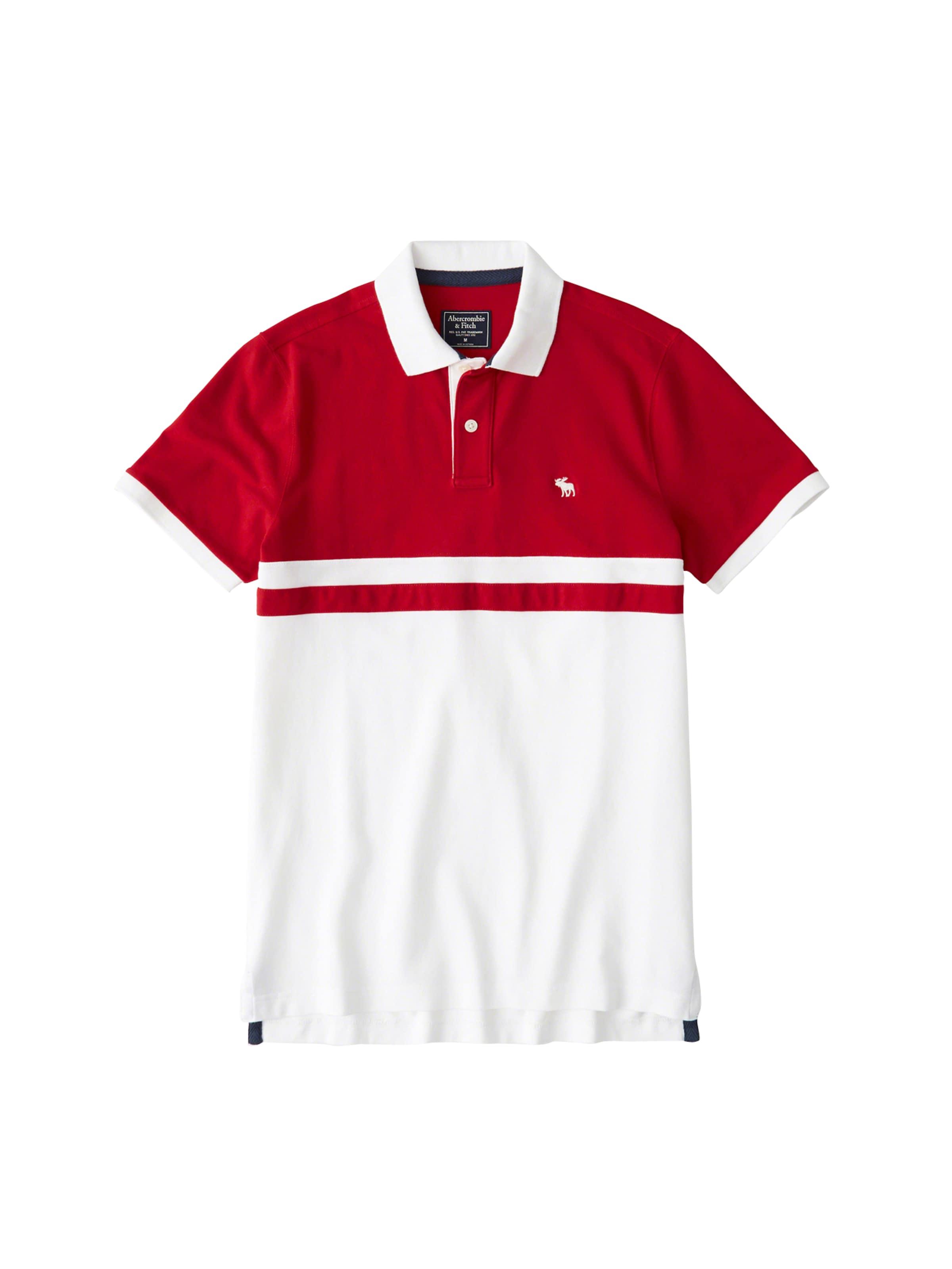 En Abercrombieamp; T Buoy' Fitch shirt 'dtc RougeBlanc fyY6Ib7gv