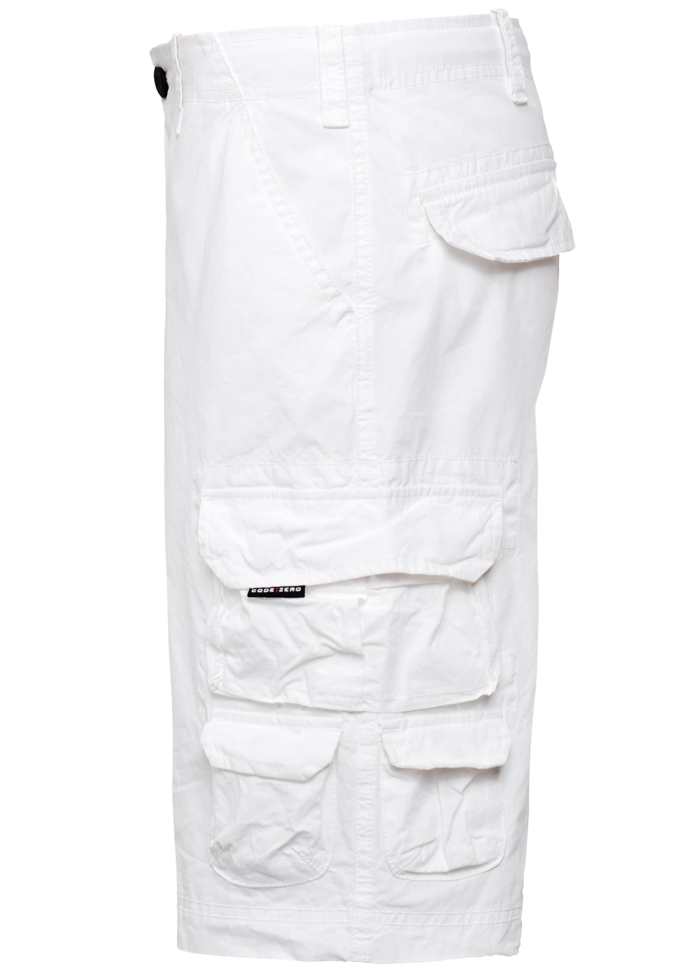 Shorts 'rudder' Weiß zero In Code OwvNm8n0y