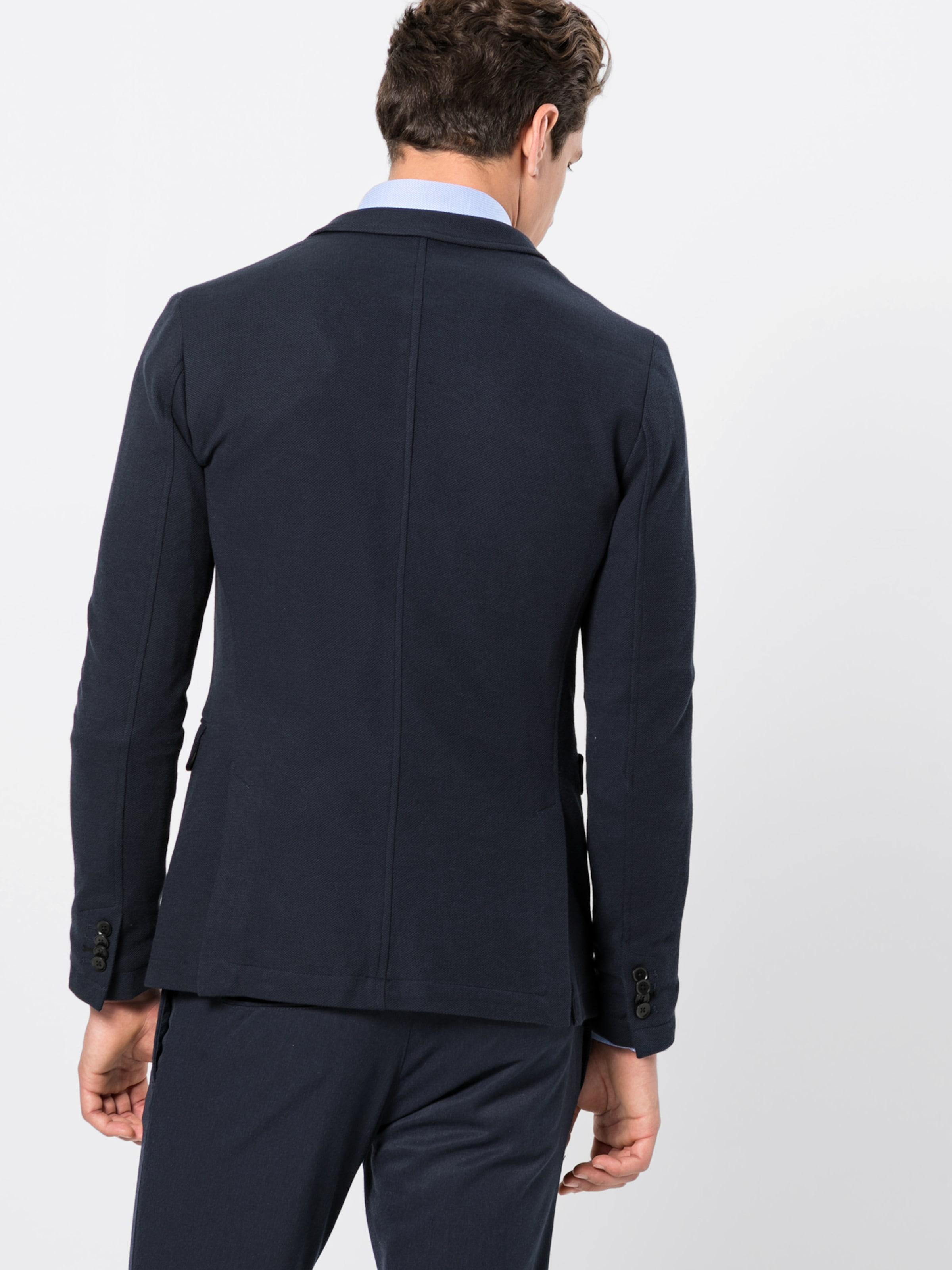 Esprit Costume Marine Knit En Collection De Veste 'strctr Blz' Bleu 5A4RjL