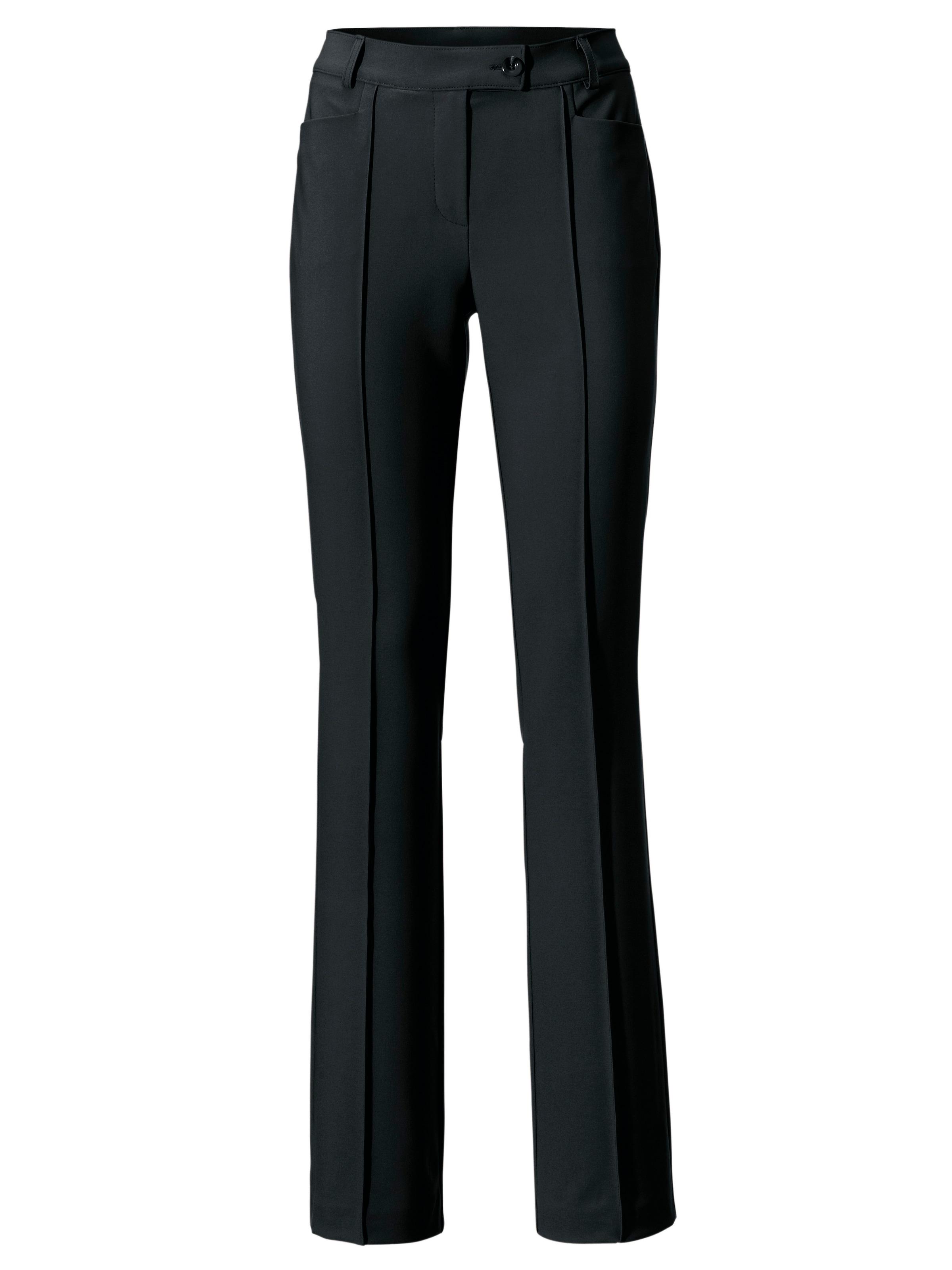 Noir Heine Pantalon À Plis En RA54jL