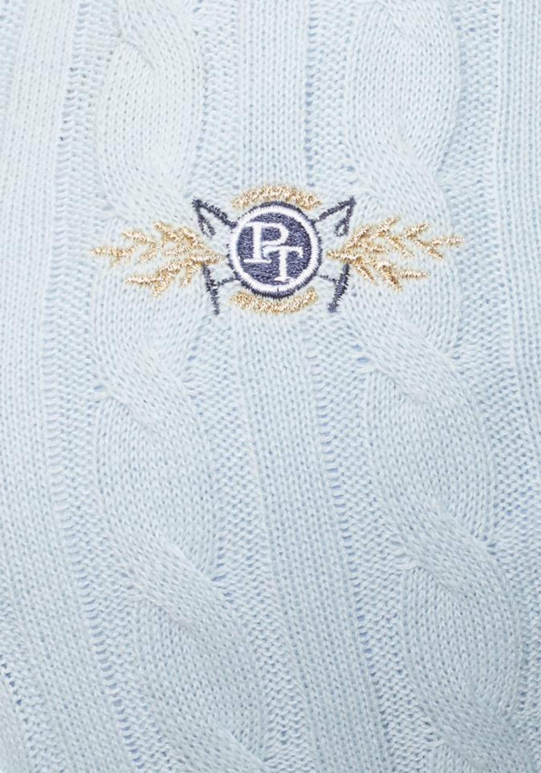 Pullover Hellblau Tailor In Tom Polo Team eWH9EI2DY
