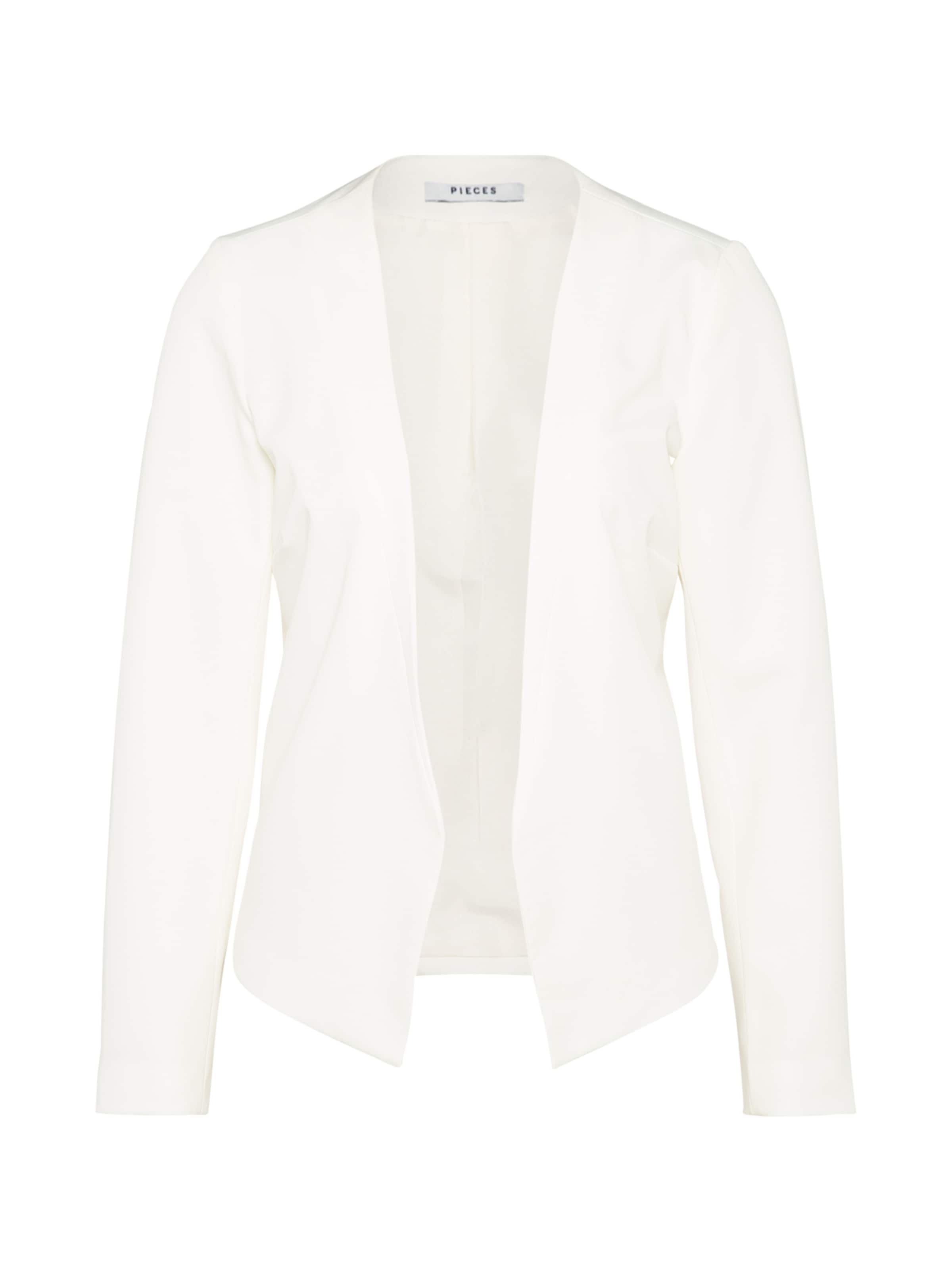 Blanc En 'ivana' Cassé Pieces Blazer 43RA5jL