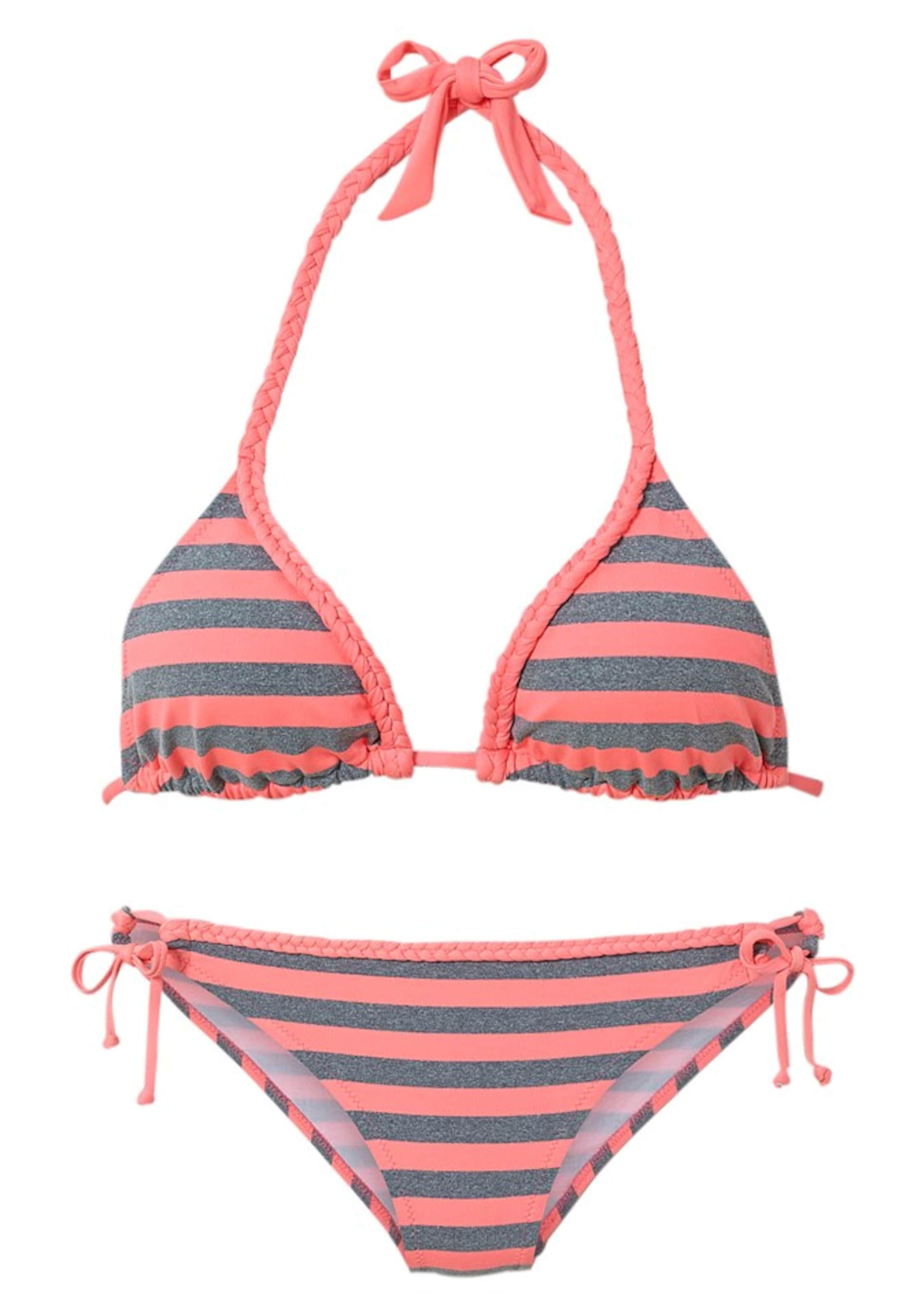 En Beach Rose Foncé Bikini GrisCorail Venice 5L3jcRA4q