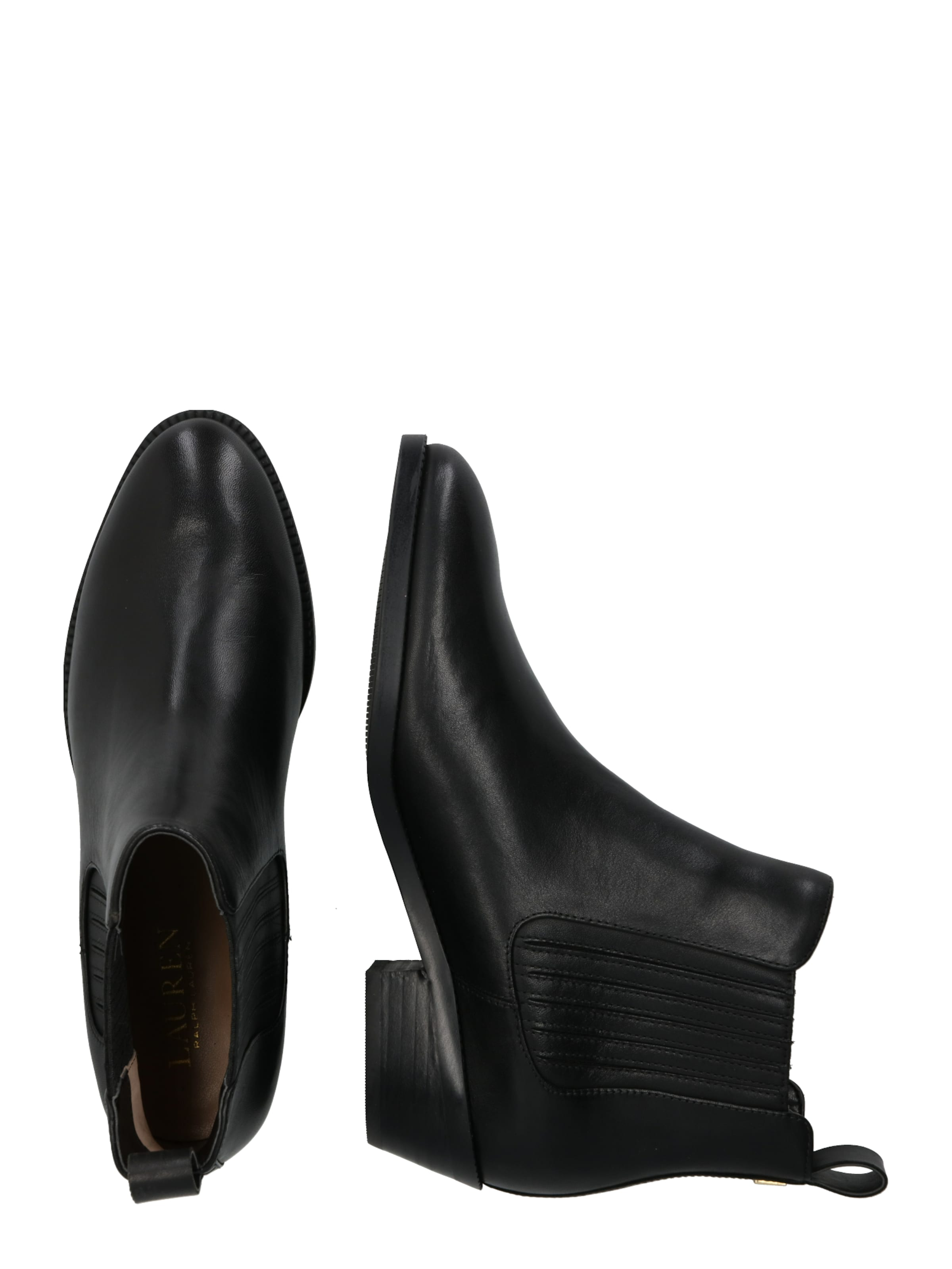 'ericka' Bottines En Noir Ralph Lauren 5AL4jR