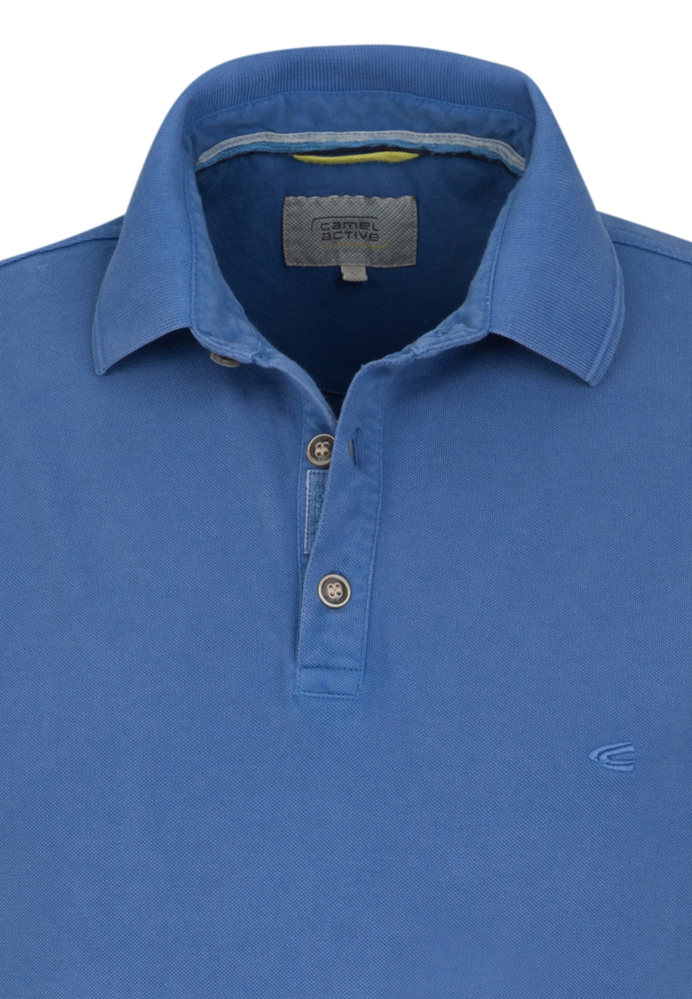 Blau Active Camel shirt In Polo 0OwP8Xnk