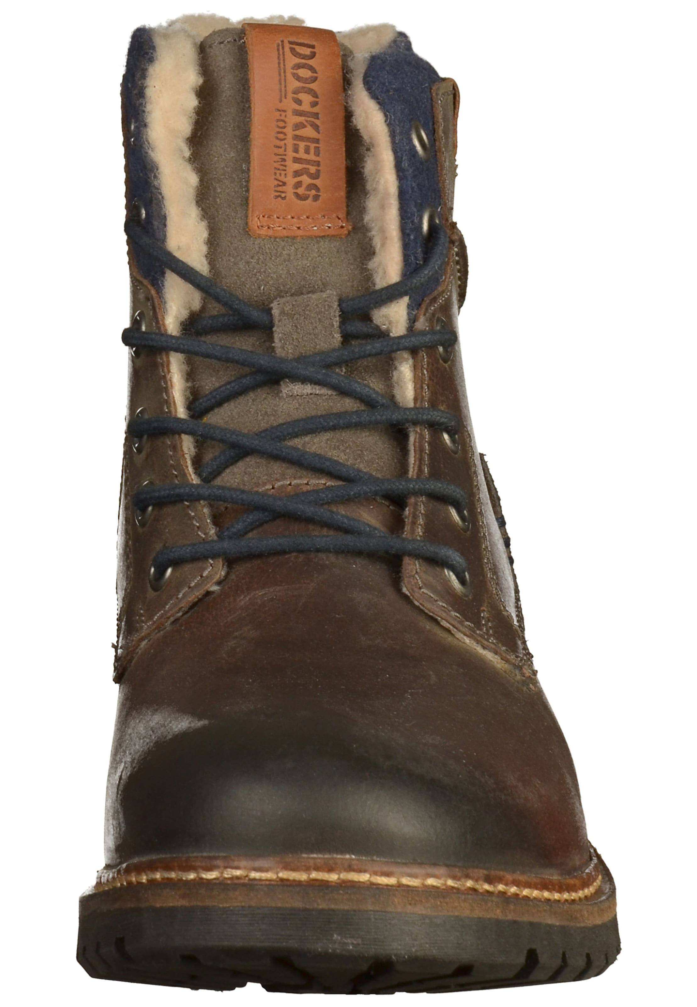 Lacets Bottes Bleu By En Brocart Orange Dockers Gerli FoncéMarron À RAcq3L54j