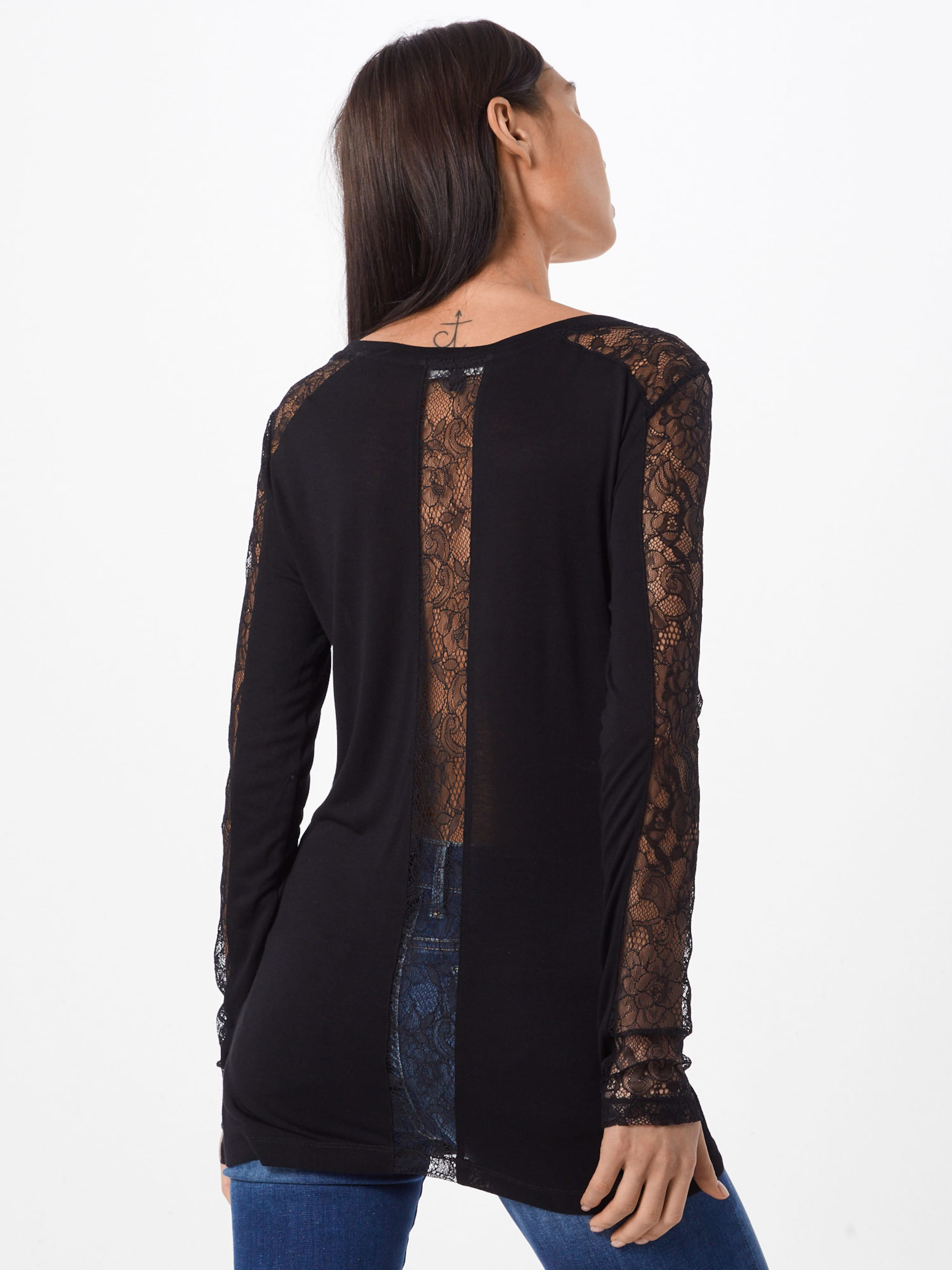 En Tigha 'harriet' T Noir shirt nP0wkO