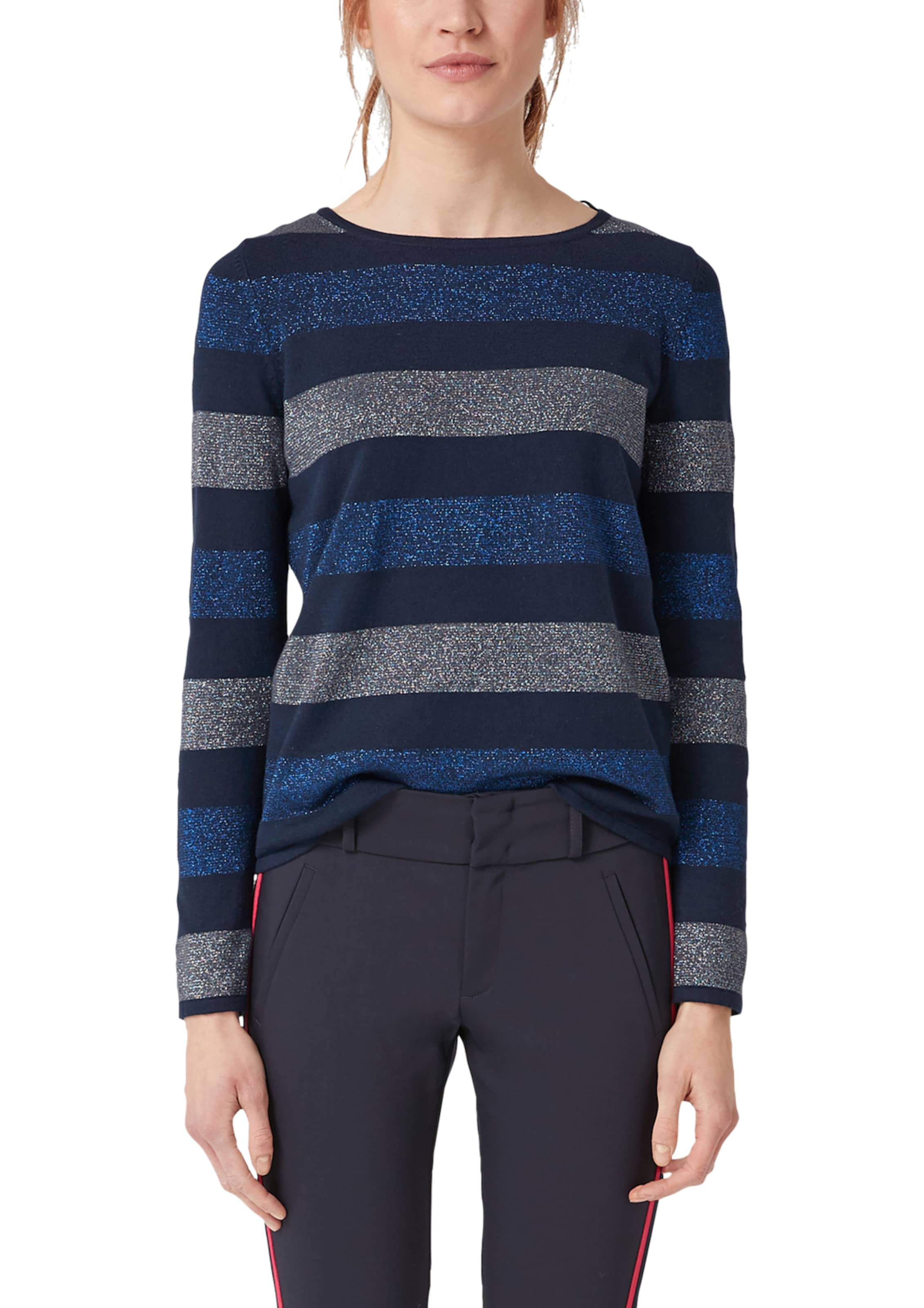 S Rauchgrau EnzianHimmelblau Red Label Pullover In oliver 5c4RjLq3A