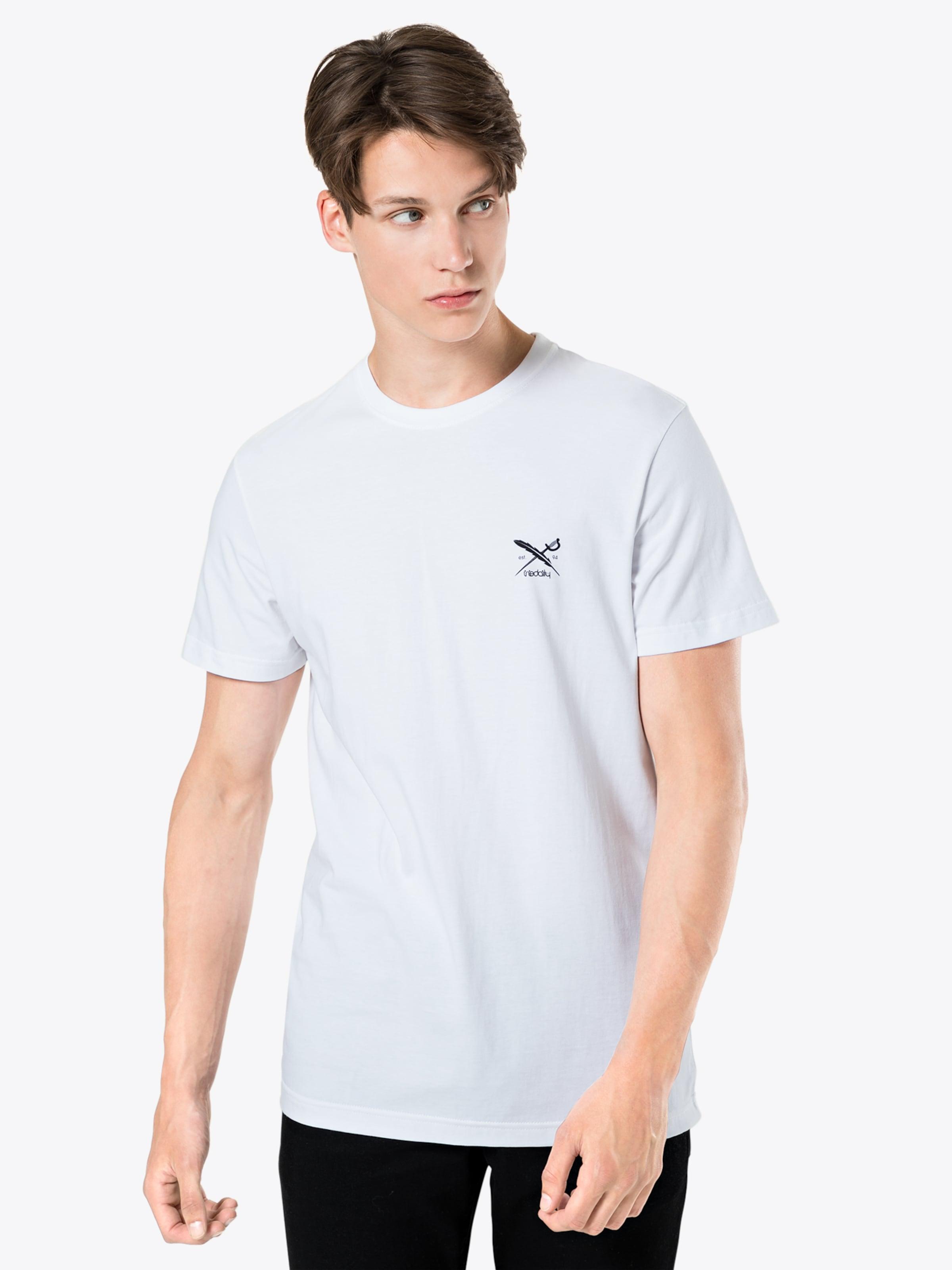 En 'chestflag shirt Tee' Gris Chiné Iriedaily T QhrdCts