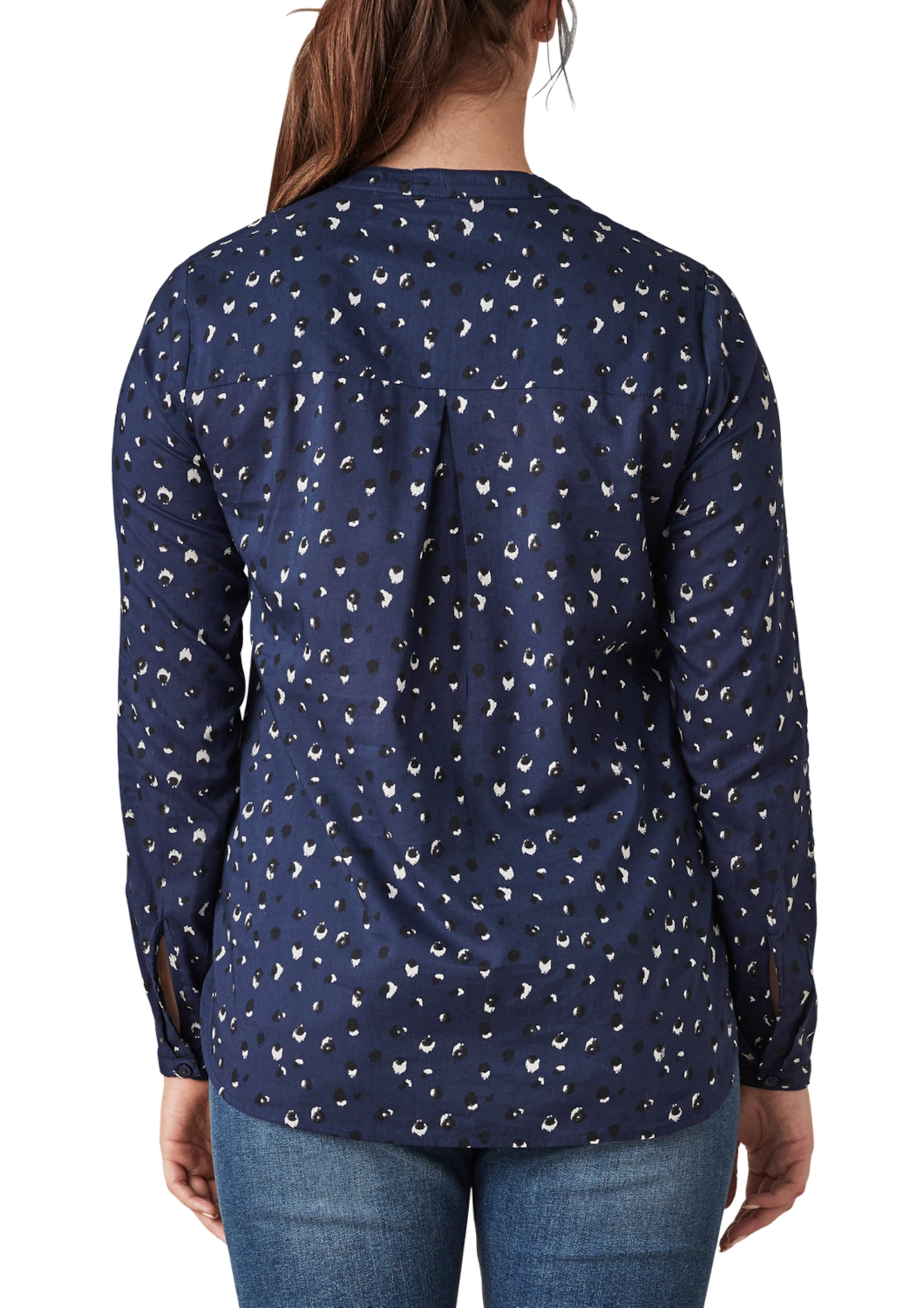 In Triangle NavySchwarz Weiß In NavySchwarz Weiß Triangle Bluse Bluse wPXiuTZOkl