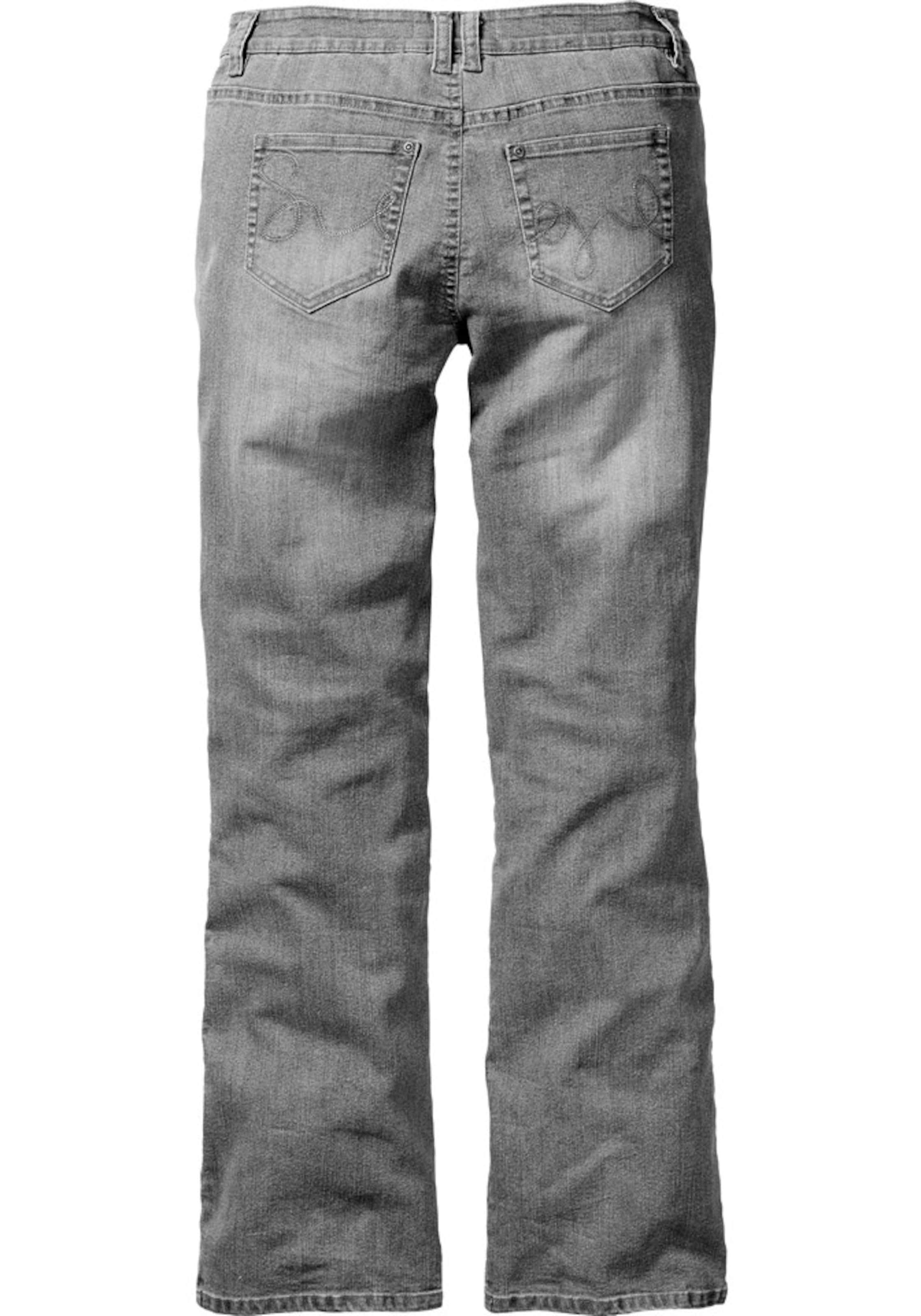 Grey In jeans Bootcut Denim Sheego Stretchqualität gbYf67y