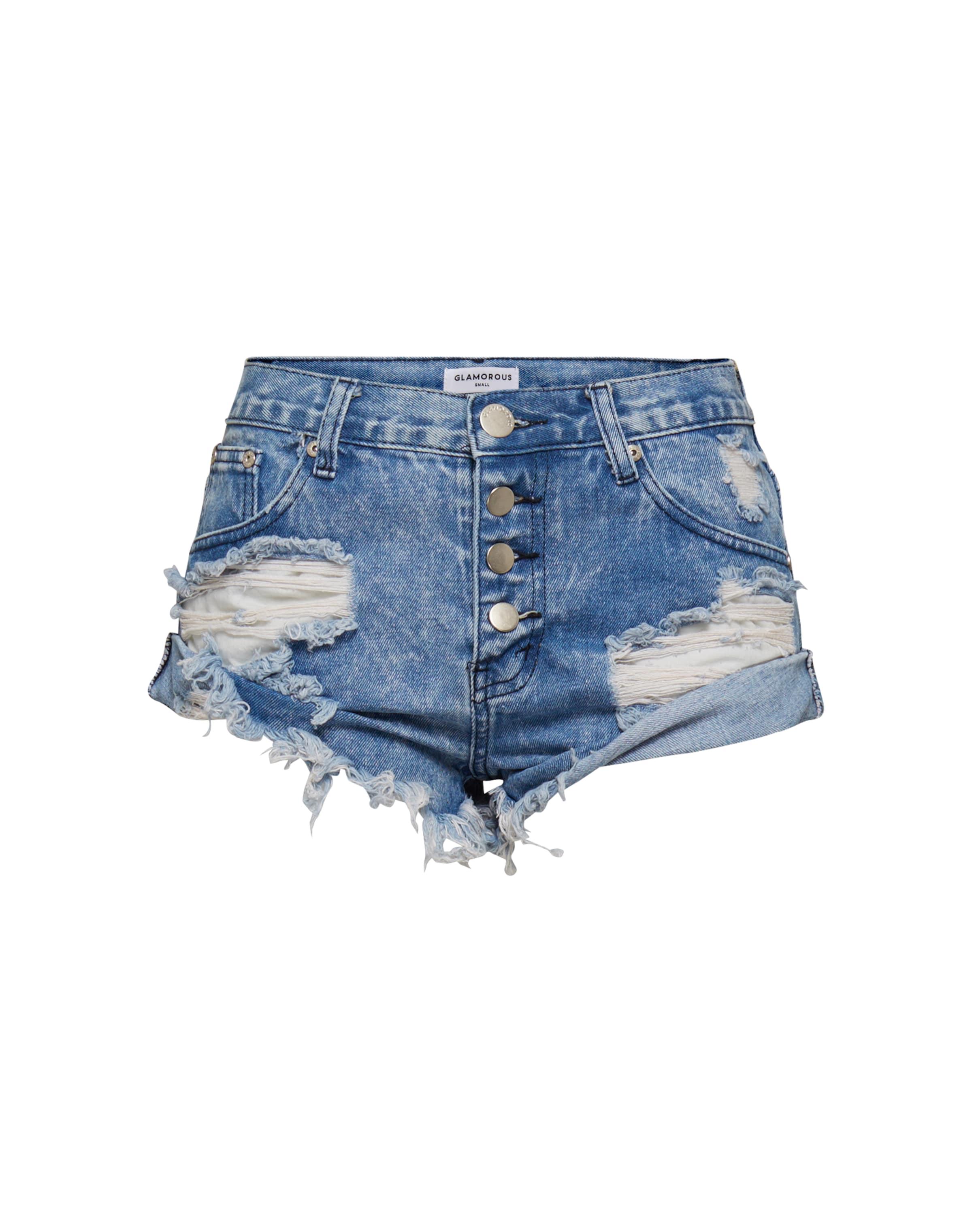 'ka4527' Shorts In 'ka4527' Glamorous Glamorous Blau Blau Shorts Glamorous In UqpSzMV