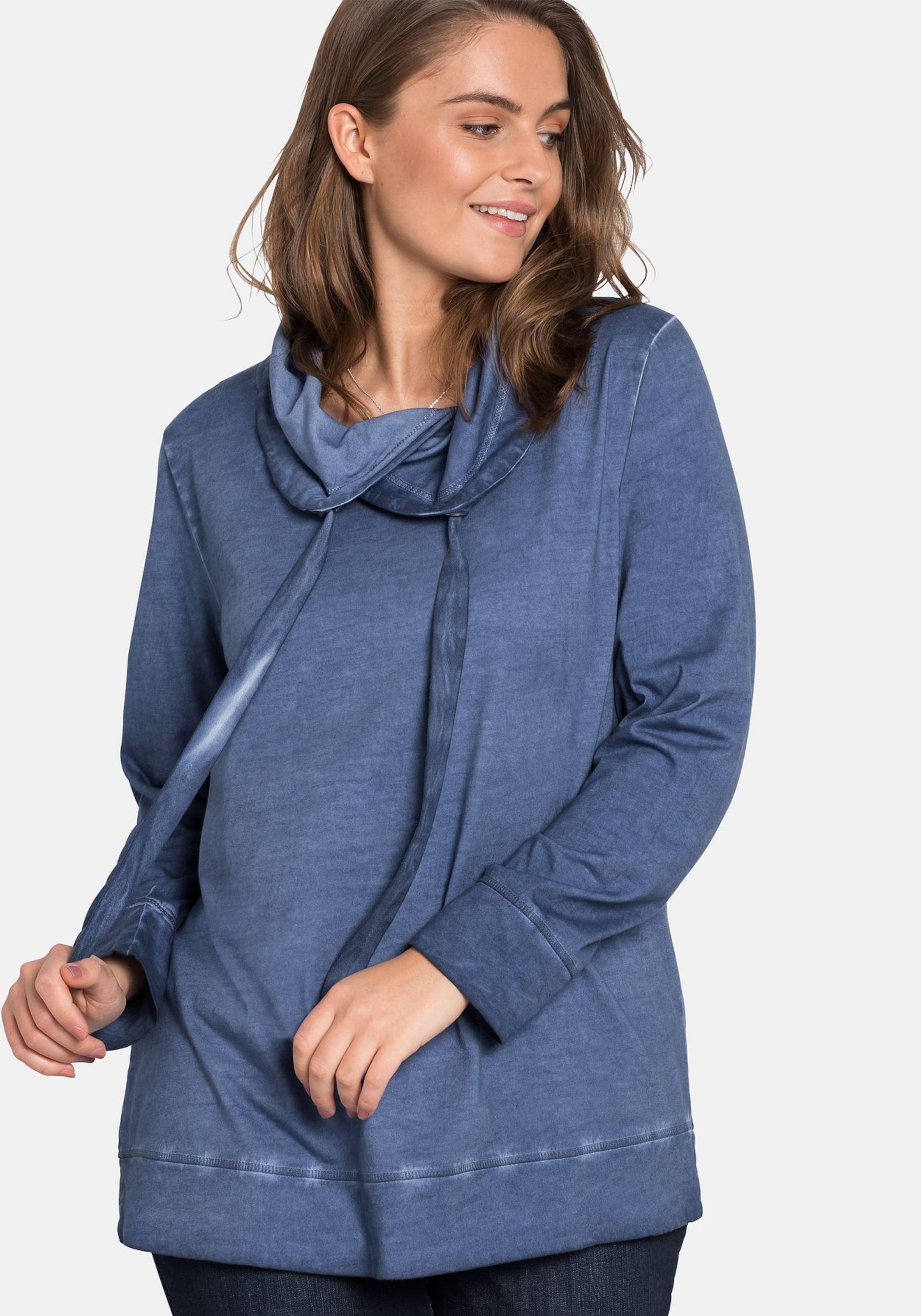 Sweatshirt Sweatshirt In Sheego Rauchblau Sheego In N0X8wnkOP