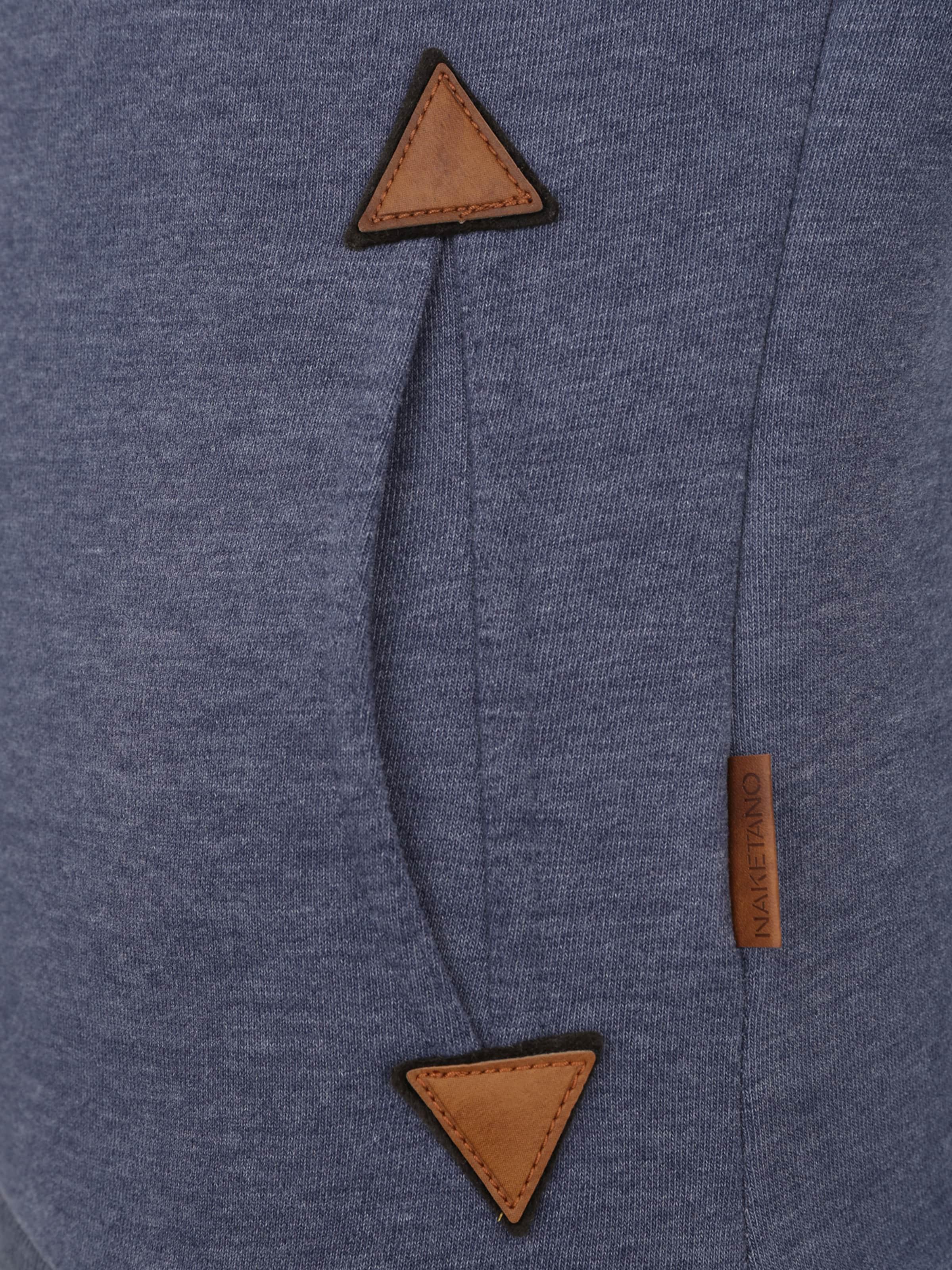 Bleu 'patty Framboise Hoch' En Hände NuitRose Naketano Sweat Immer shirt Y6gbf7vy