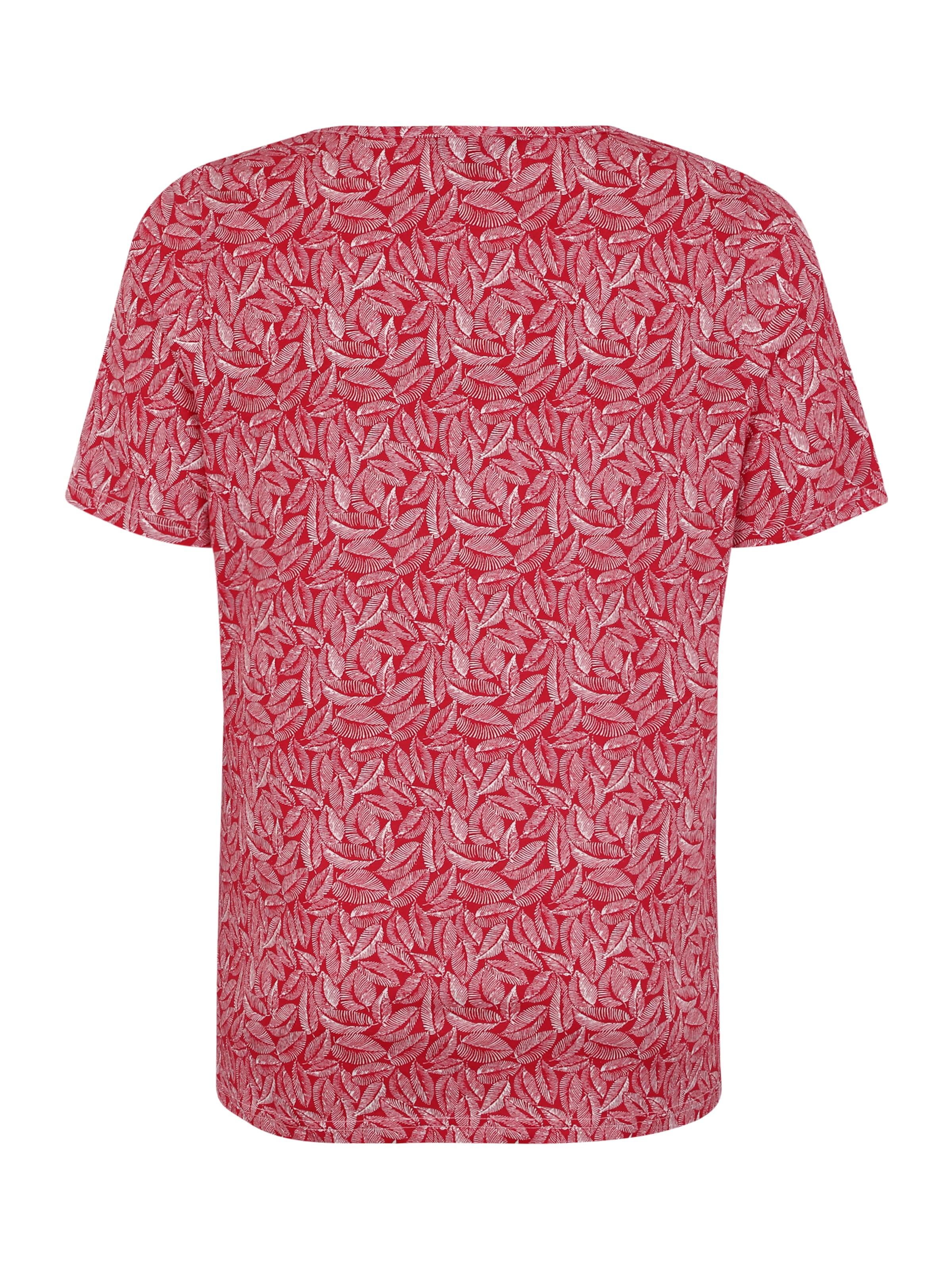 T Ulla Popken shirt RougeBlanc 'minimal' En fgbyYI6v7