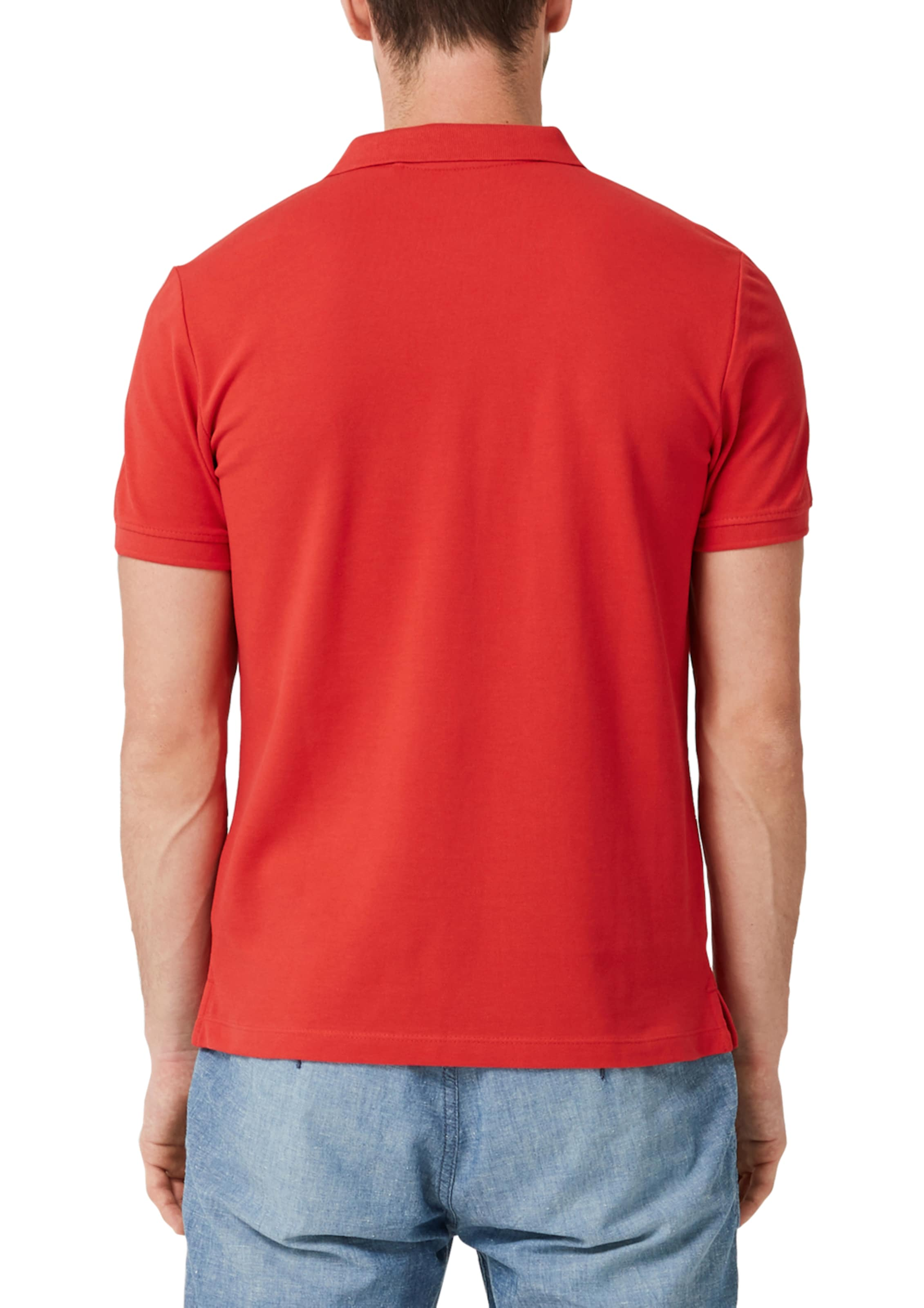 S oliver In Label Red Poloshirt Hellrot WE9HD2I