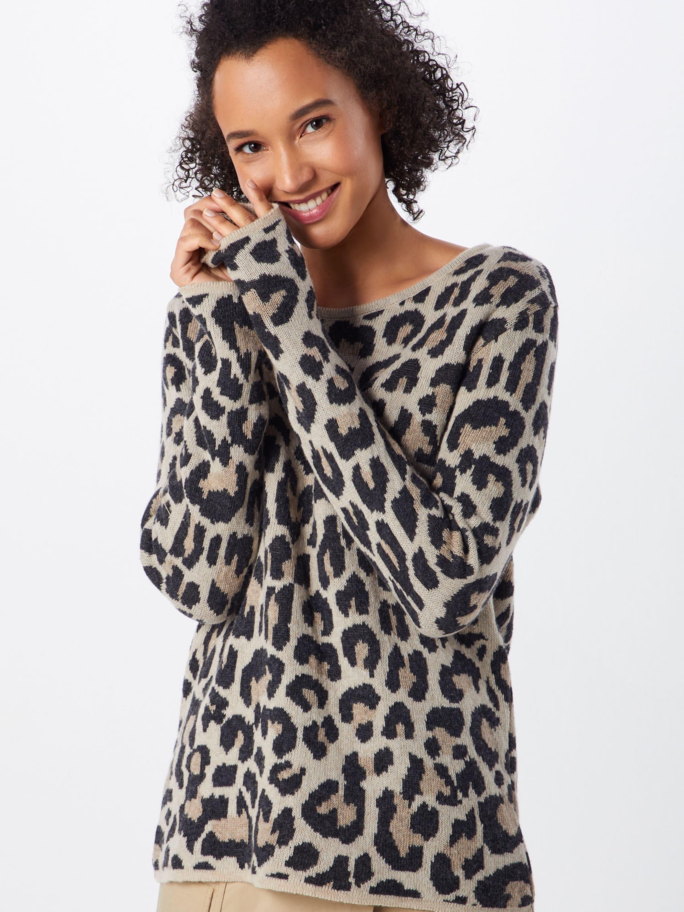 Pullover 'leo' Pullover Zwillingsherz Zwillingsherz 'leo' In HellbraunSchwarz OuwXTZikP