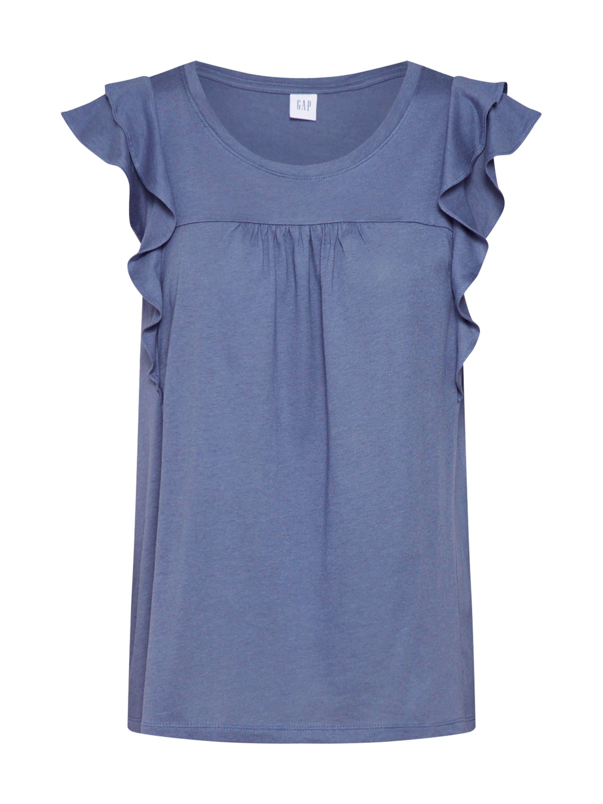 En T shirt Bleu Fumé Gap E9DWYH2I