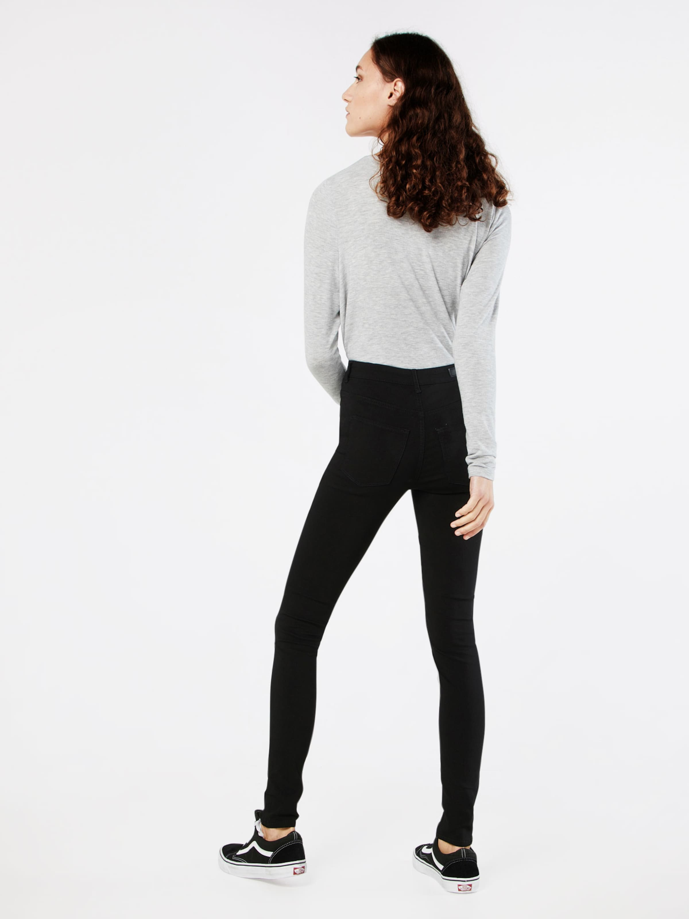 'highskin Wear' En Pieces Jeggings Noir rxBCodeW