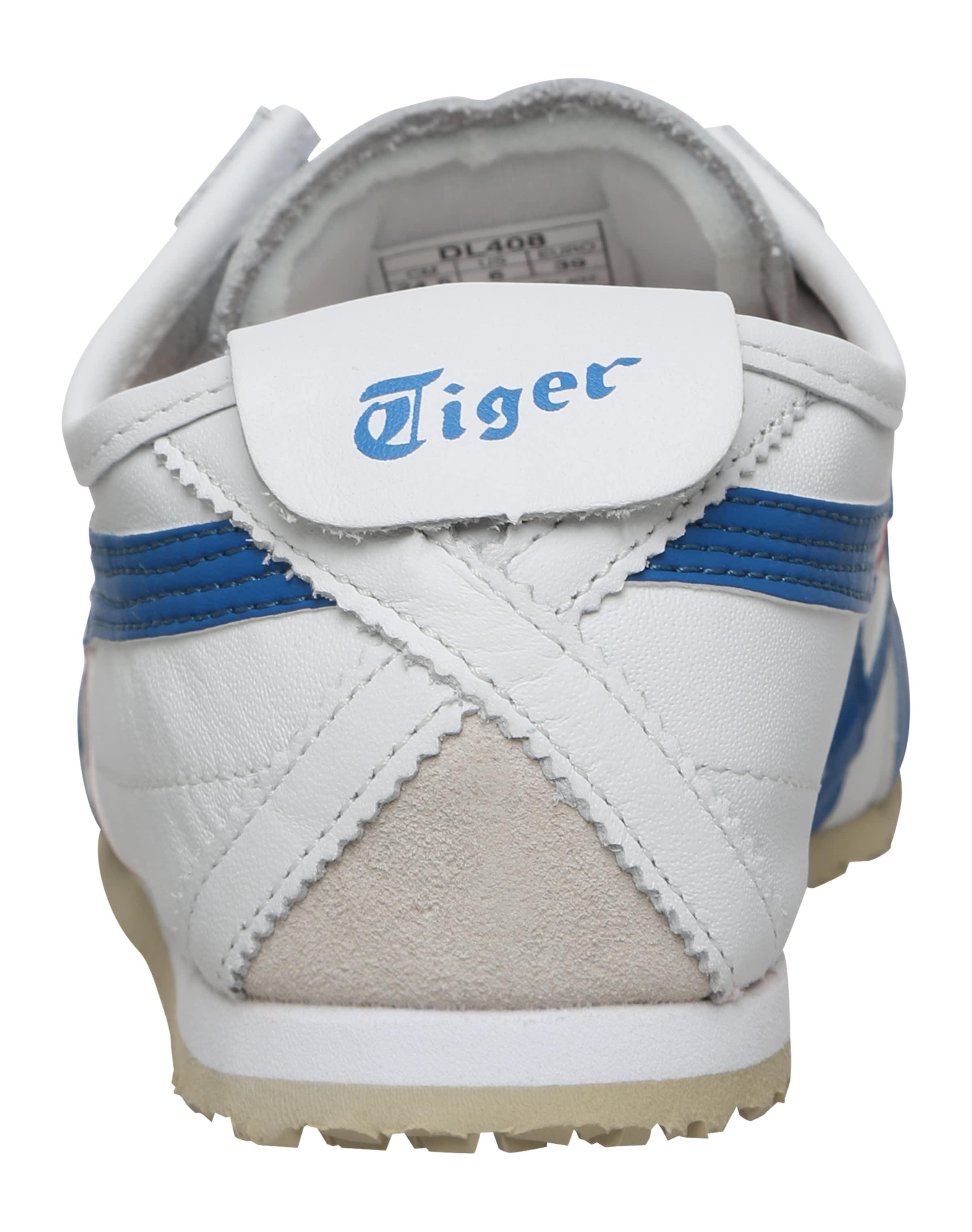 Onitsuka 'mexico BleuRouge Tiger Baskets Blanc Basses En 66' Y6b7vfyg