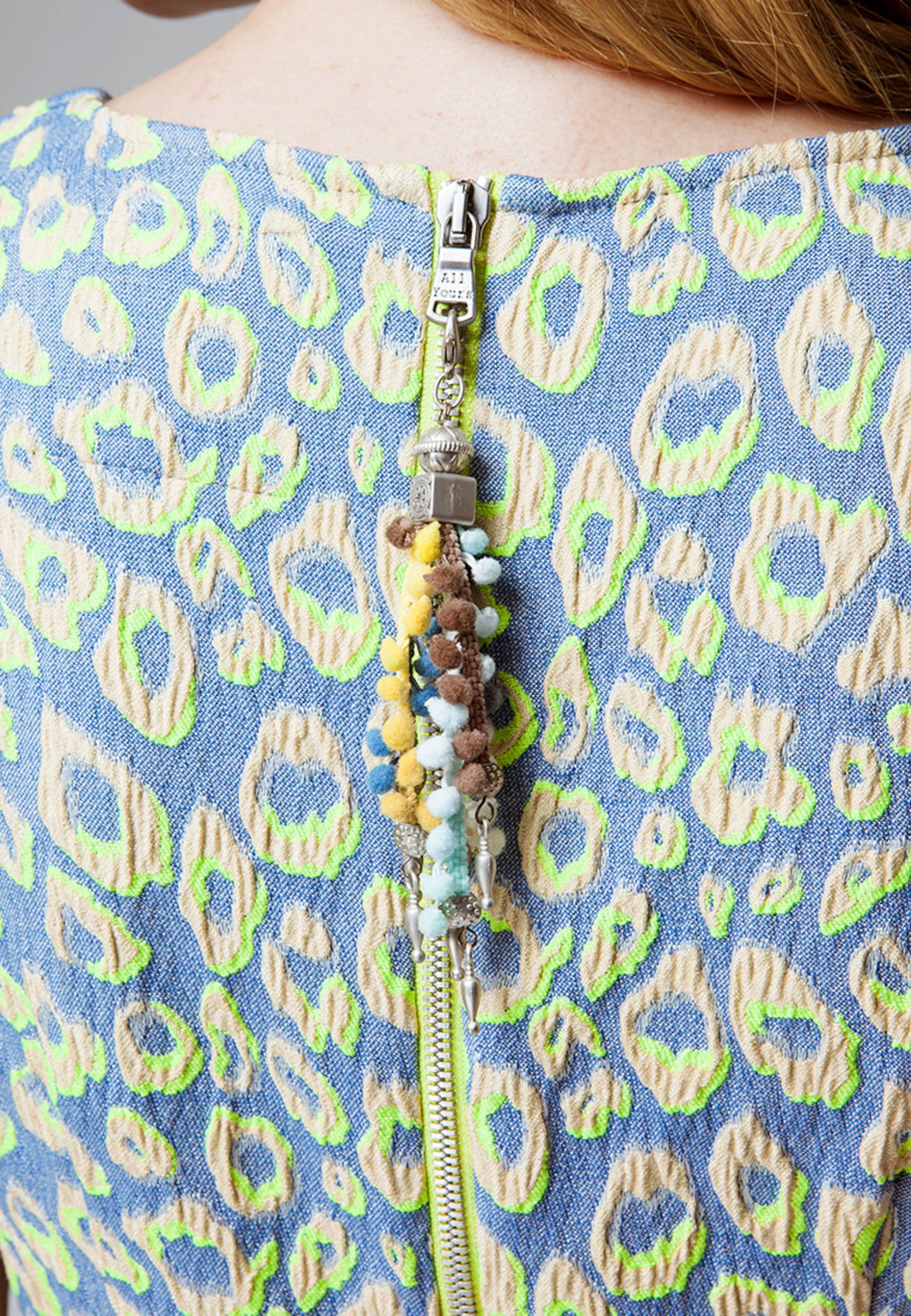 Yours BleuFumé Robe All Kiwi En Fourreau WreBodCx