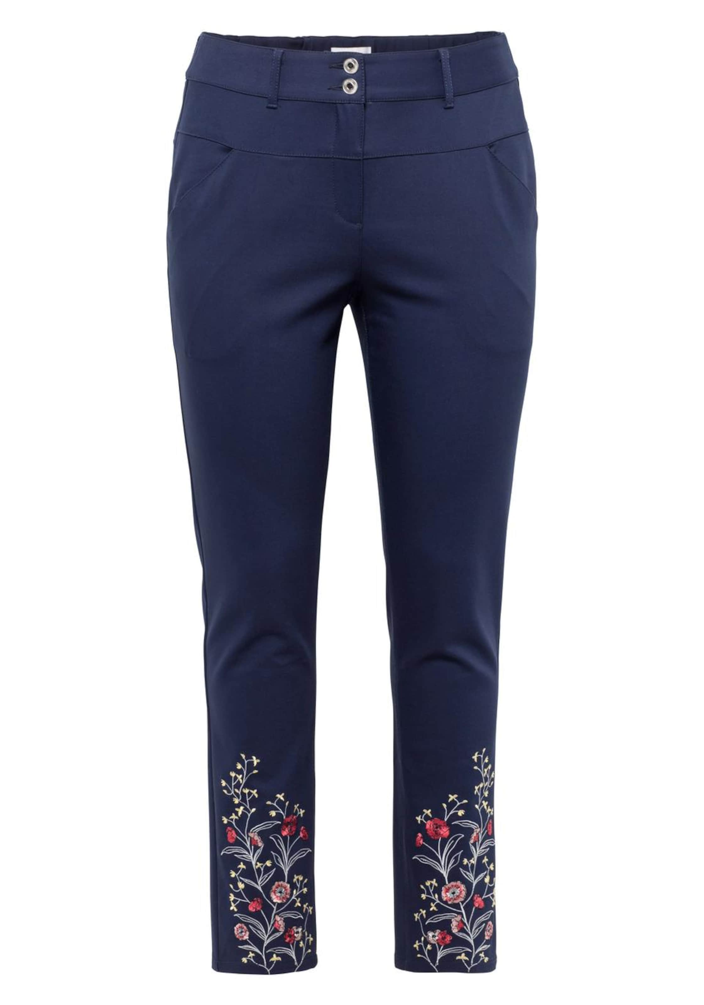 Anzughose Sheego Style Anzughose In Sheego In Style MarineMischfarben k0OPnw