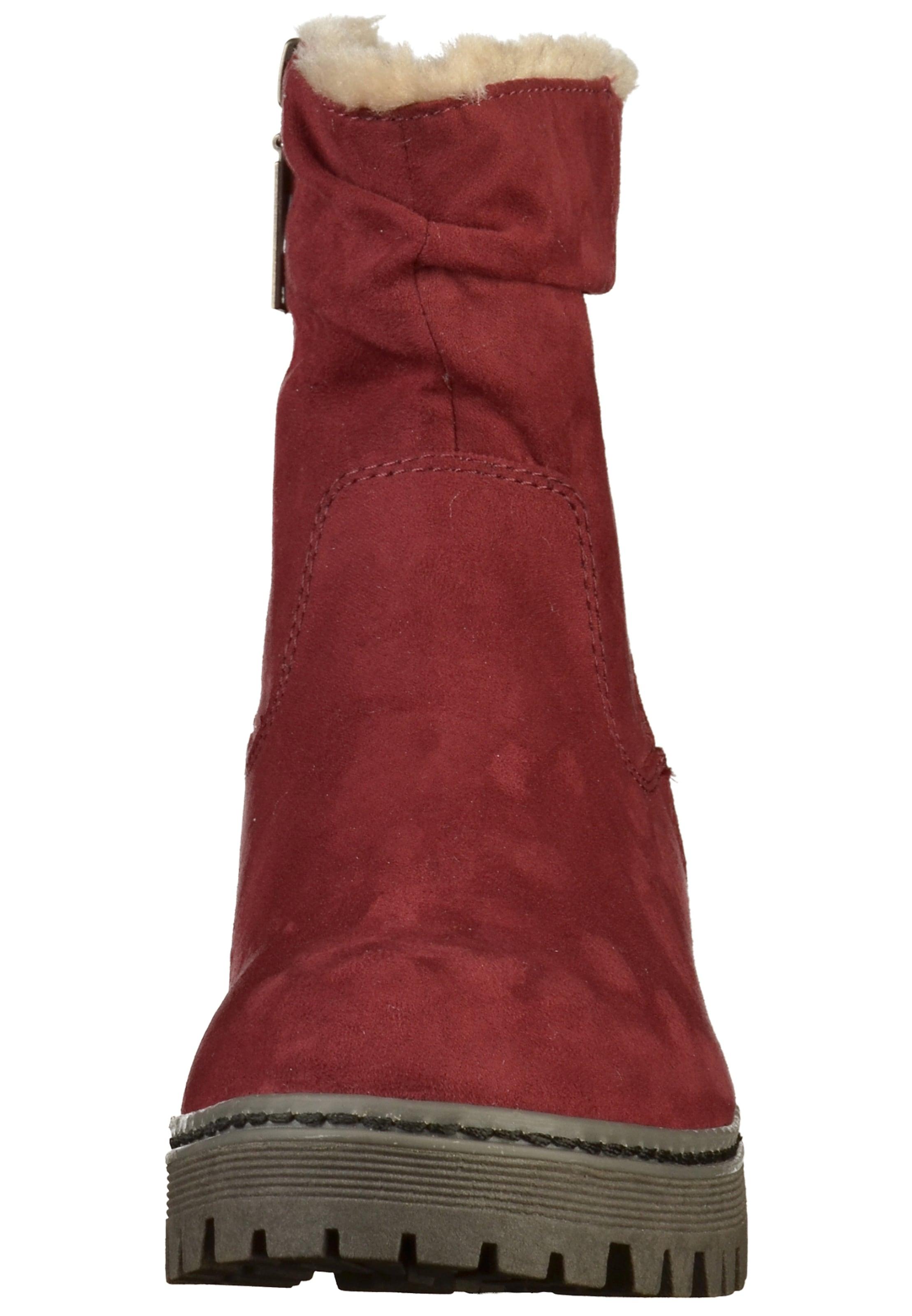 S Label ChinéGris oliver En Rouge Beige Bottines Red Basalte jMLzUpqSVG
