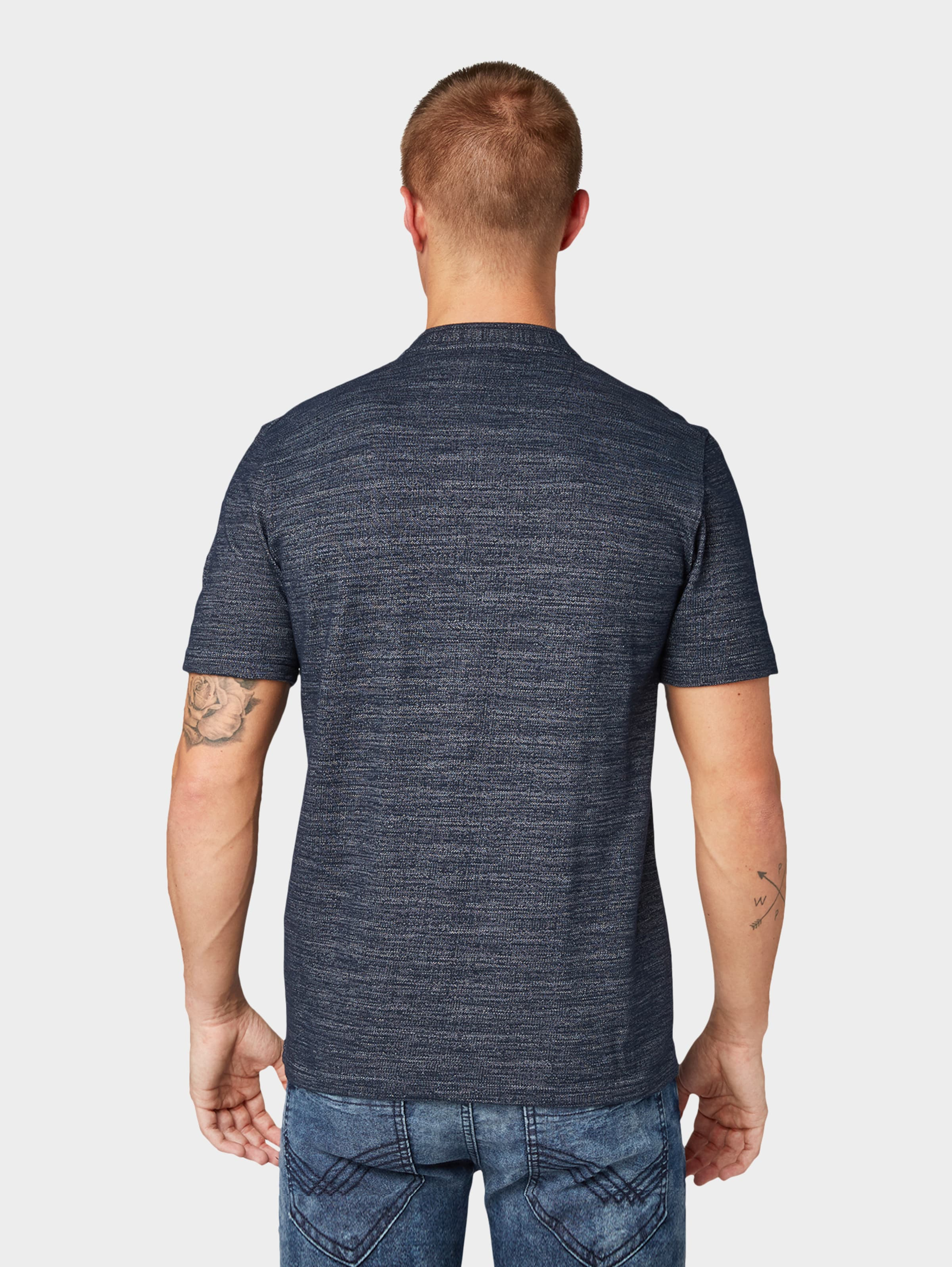 T Tailor In Dunkelblau Tom shirt Nm8wn0vO