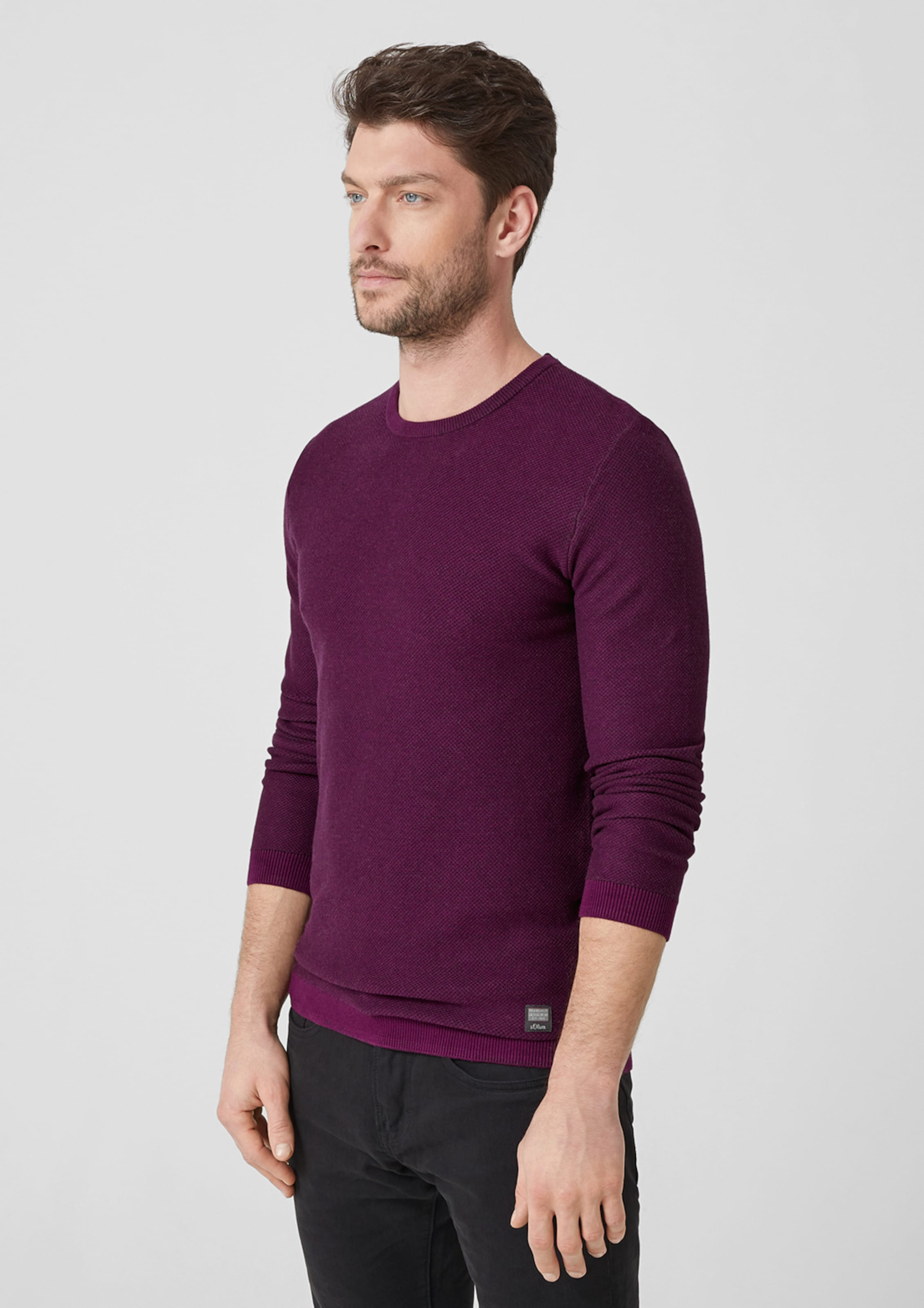 S In Red Label oliver Pullover Beere kXiPZOuT