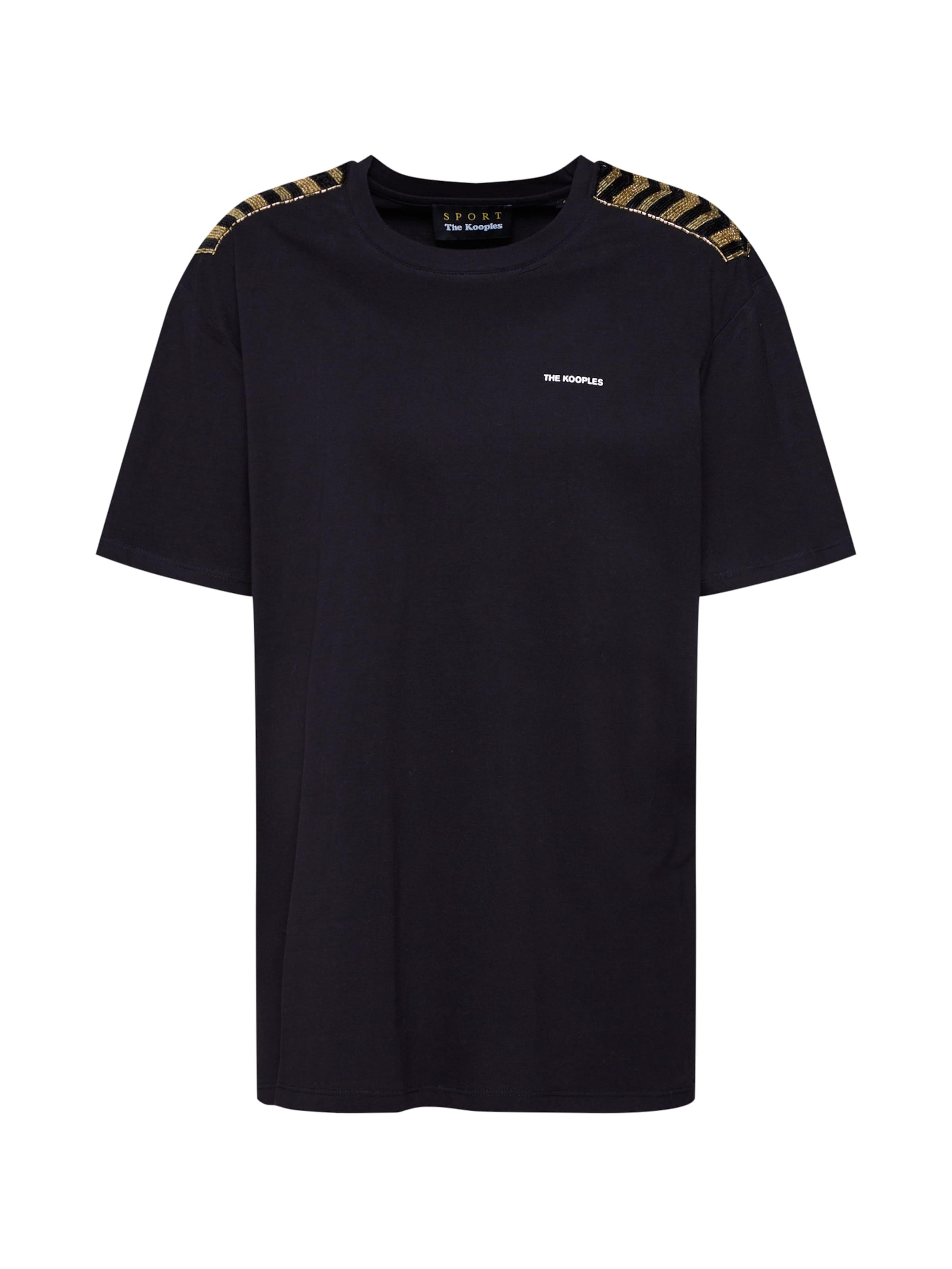 Sport En shirt T The Kooples 'ftsc18014s' Noir Nm8n0w