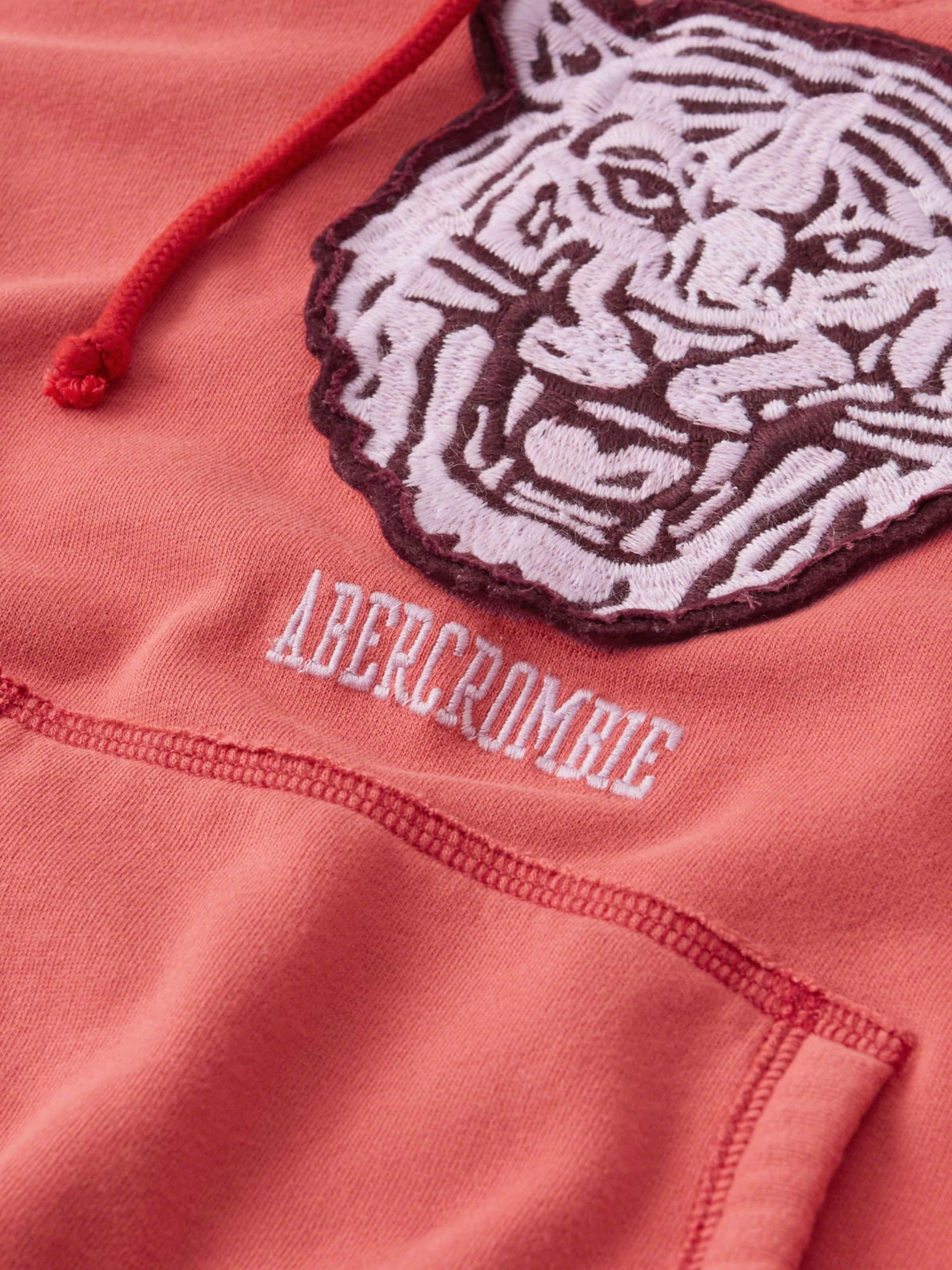 Sweat elevated Fitch Rouge En Mascot Abercrombieamp; Nonlogo 2cc' shirt 'xm18 Po HIbWE2eD9Y