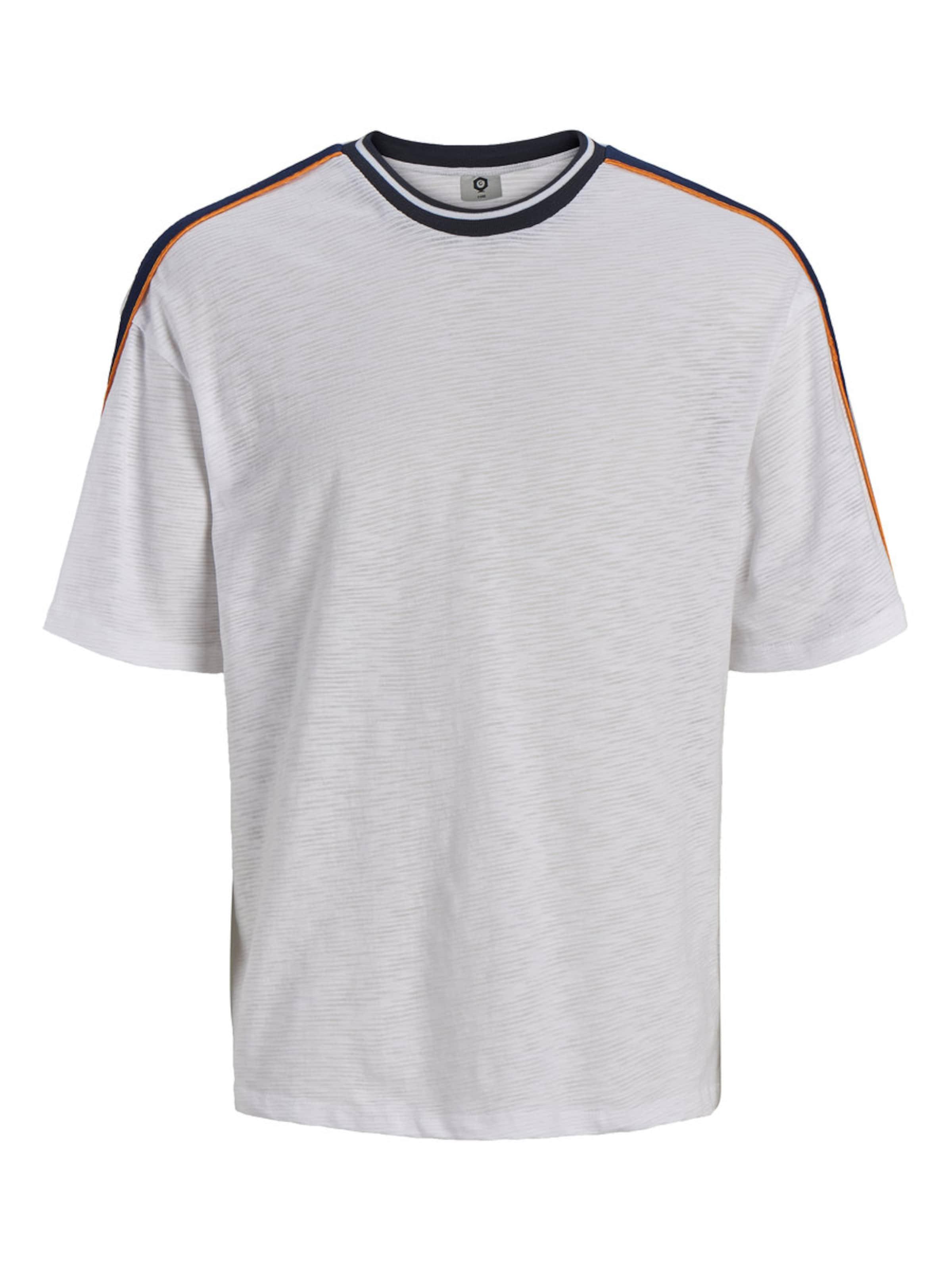 T Jackamp; RougeNoir Chiné Jones Blanc shirt En vwnmN8O0
