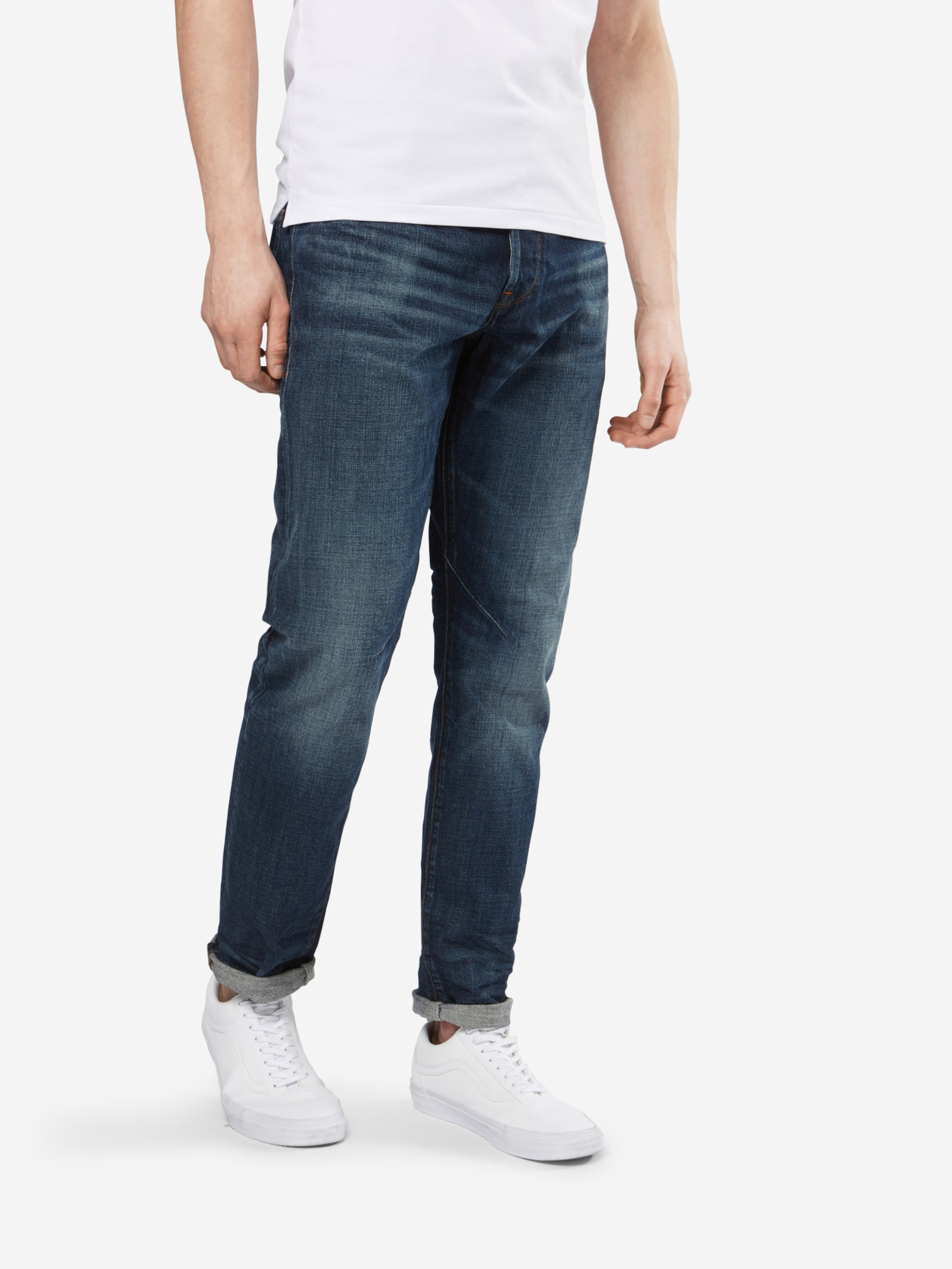 Denim staq pkt Bleu Raw Tapered' En G star 'd 5 Jean PkZuwTiOX