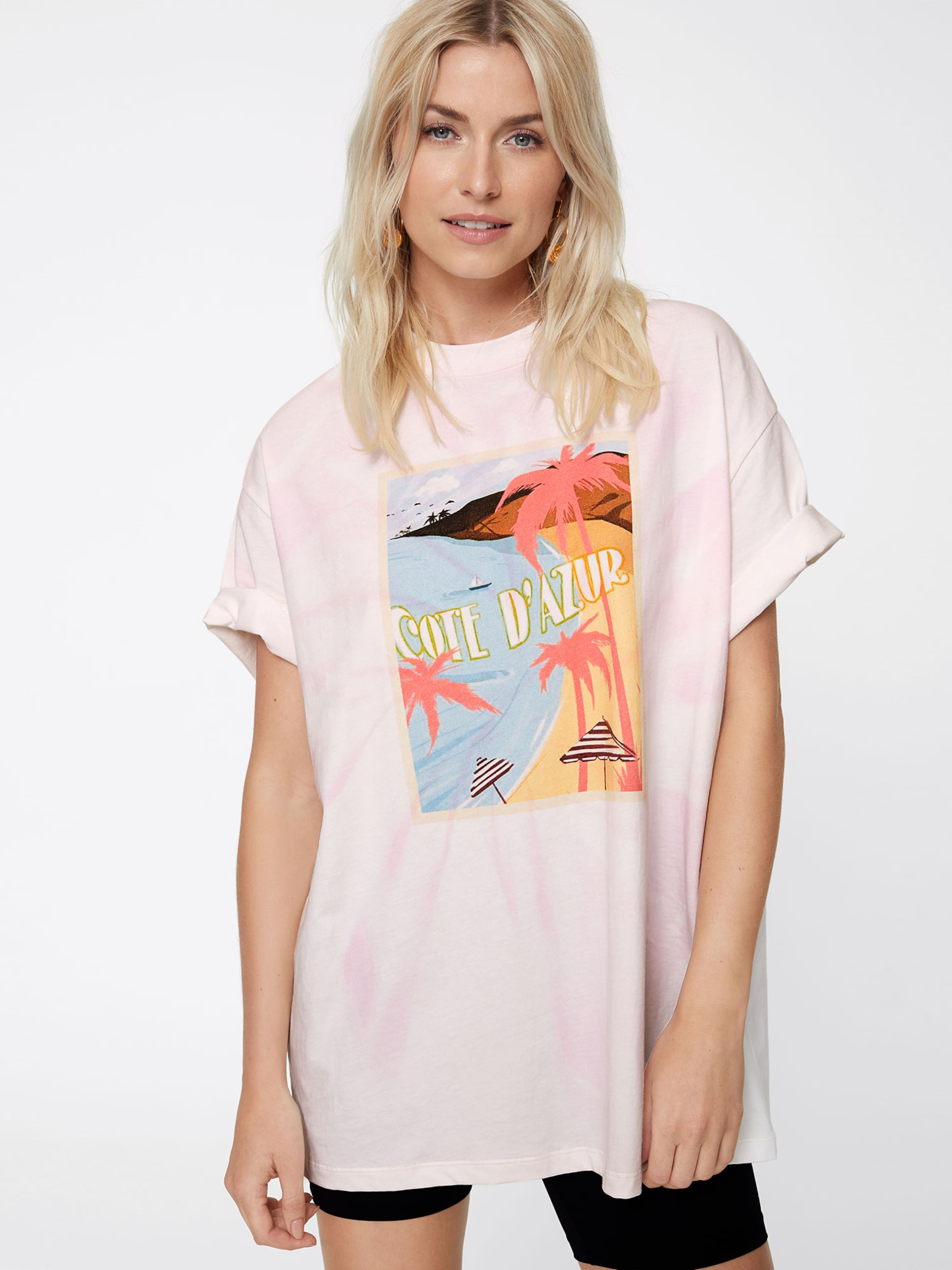 Oversize shirt En Lena By Leger Gercke 'sunny' T Rose w08nOkPX