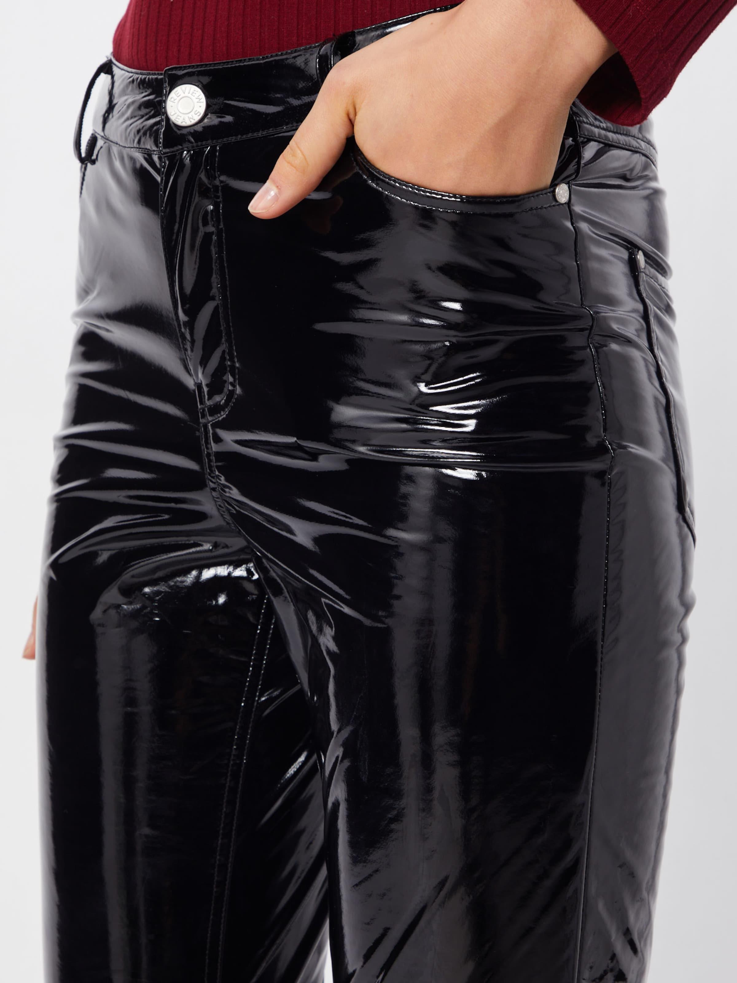 Pantalon En Review Ankle' 'lacquer Noir bgY76yf