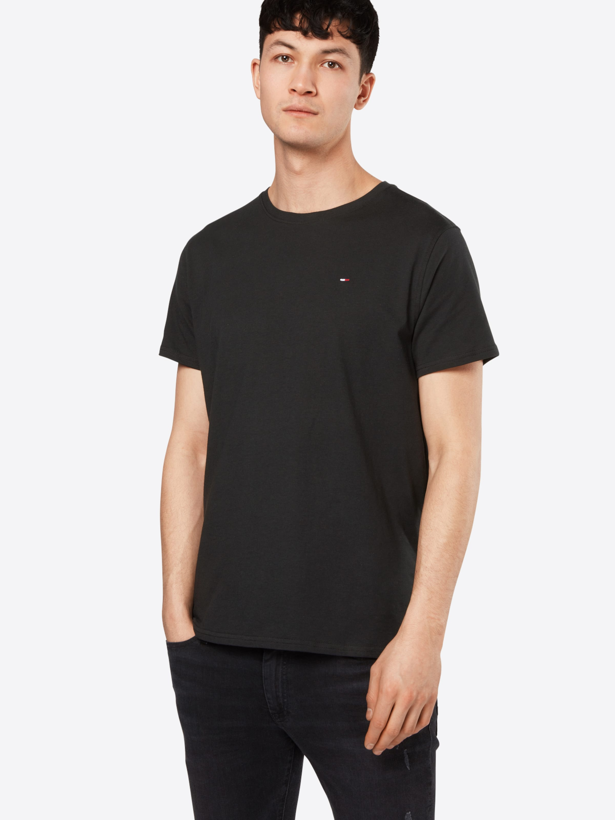 T Noir Jersey' 'tjm Original En Tommy shirt Jeans VSUzMGqp