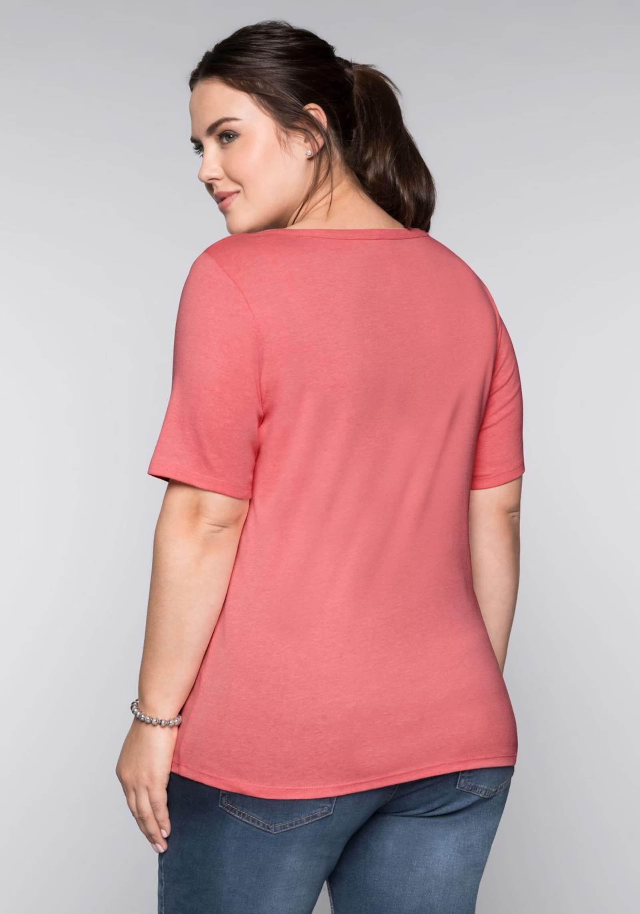 Sheego Koralle Basic shirt In T deWxrCoB