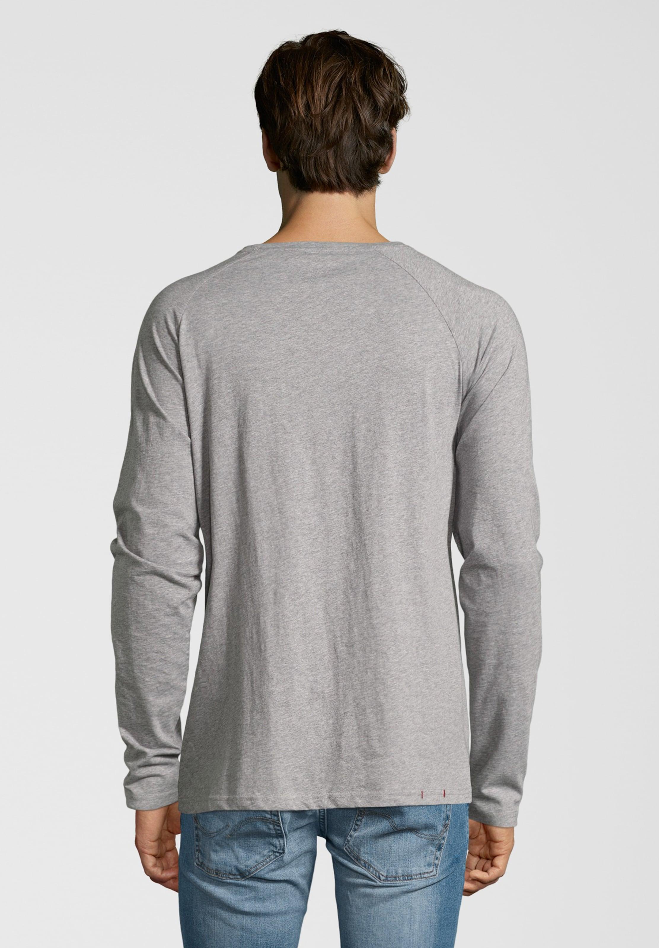 Life Shirts In For Longsleeve 'anton' Grau N0w8ynOvmP
