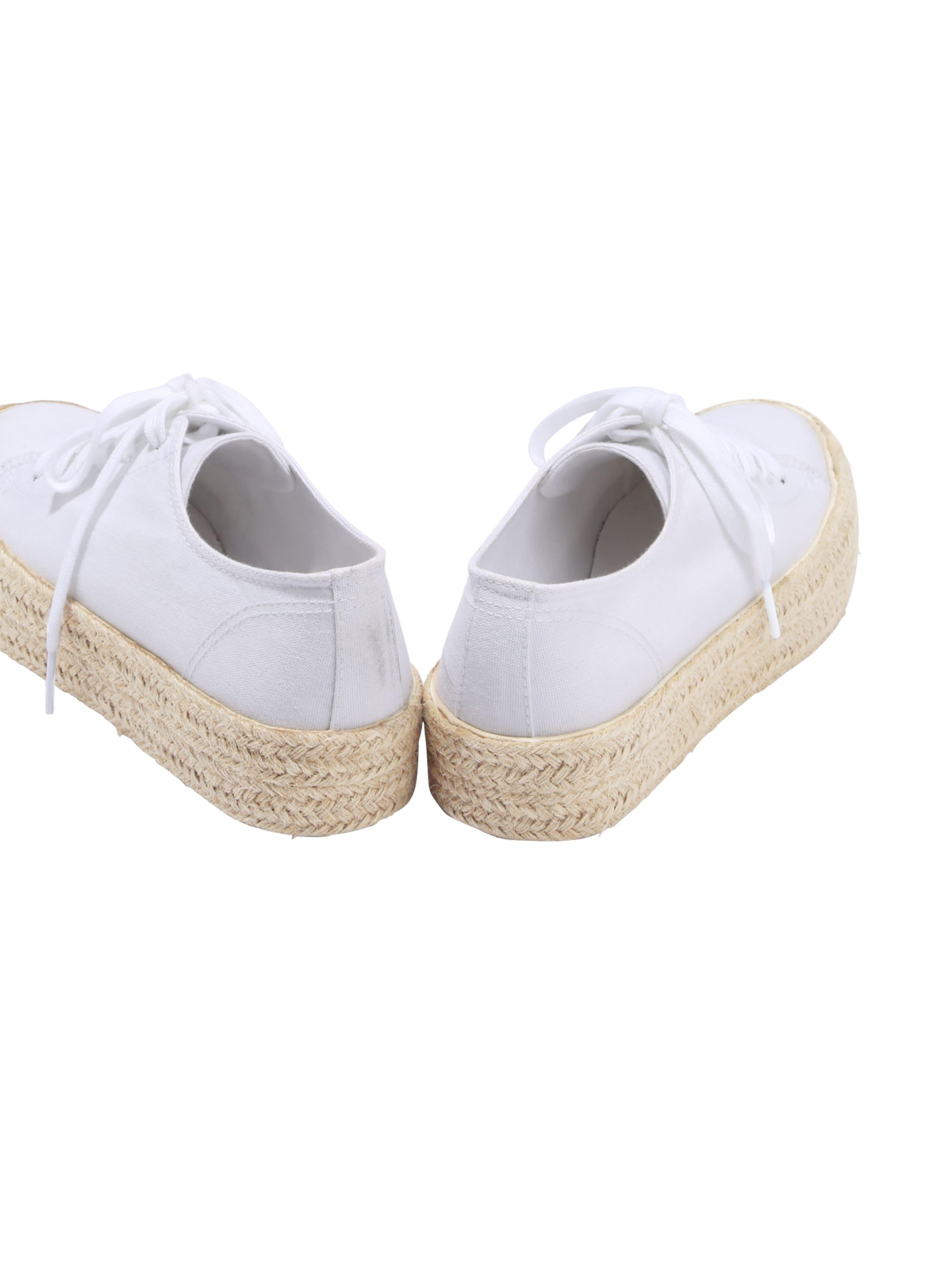 'malia' Blanc About Chaussure En You Lacets À PXuOZikT