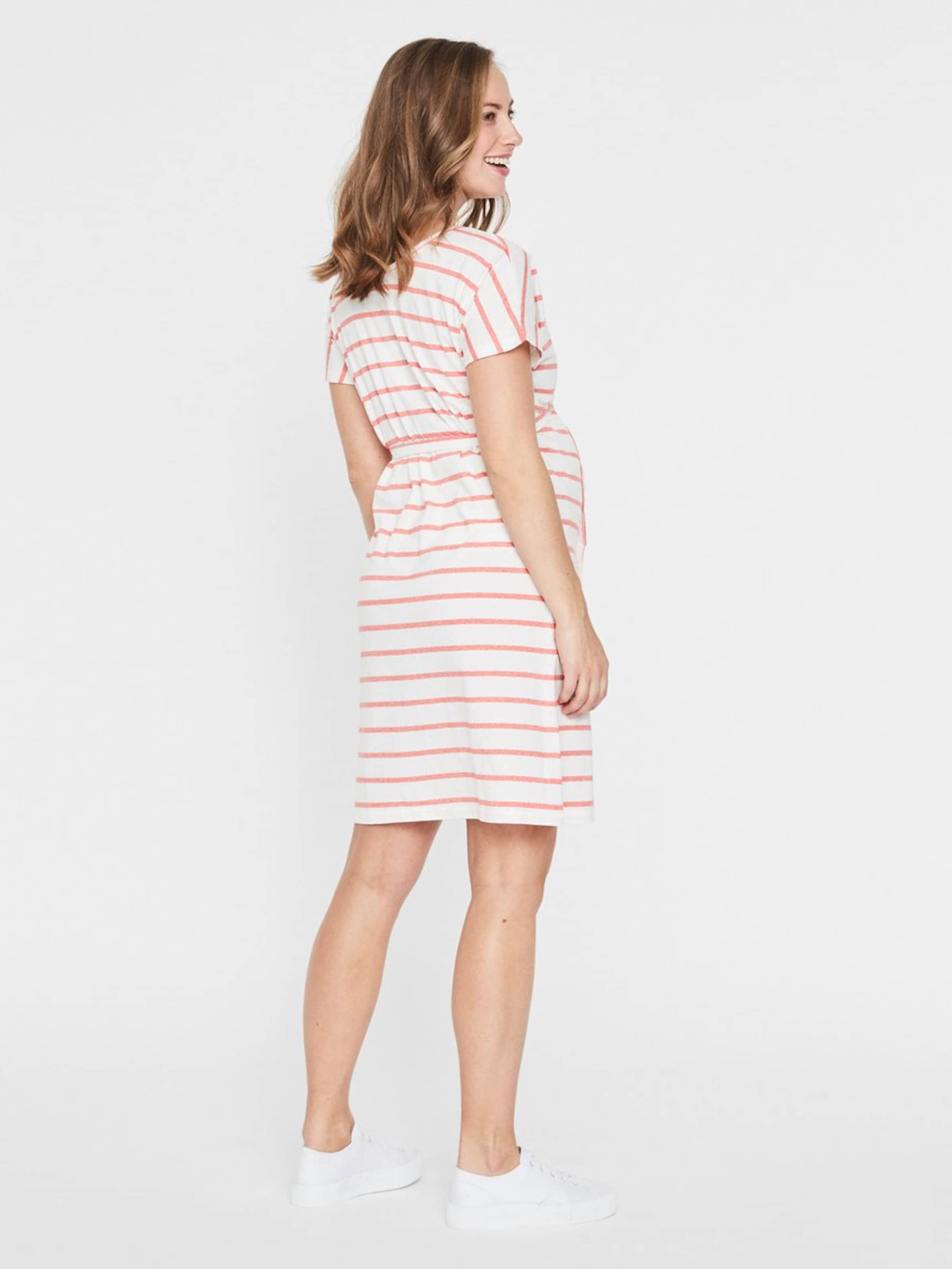 Mamalicious Kleid AltrosaWeiß In Mamalicious In Kleid sQrdBthxoC